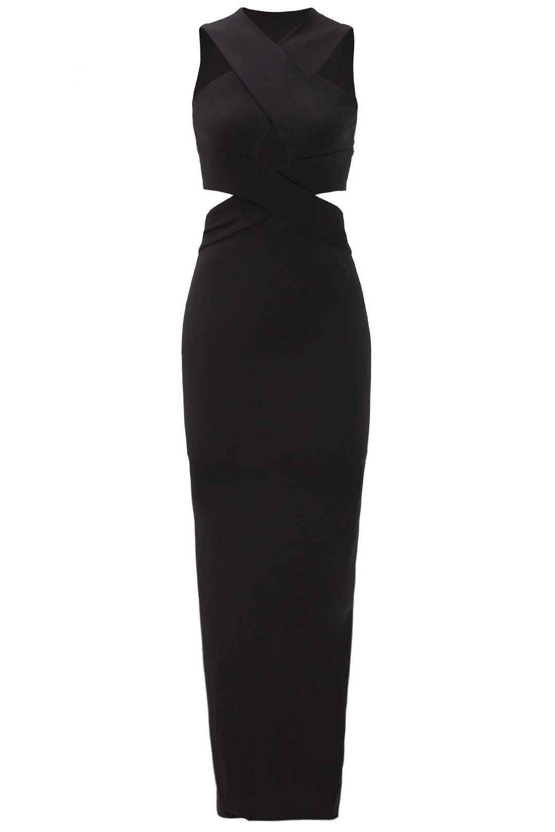 Black Adalyn Gown By Solace London For 70