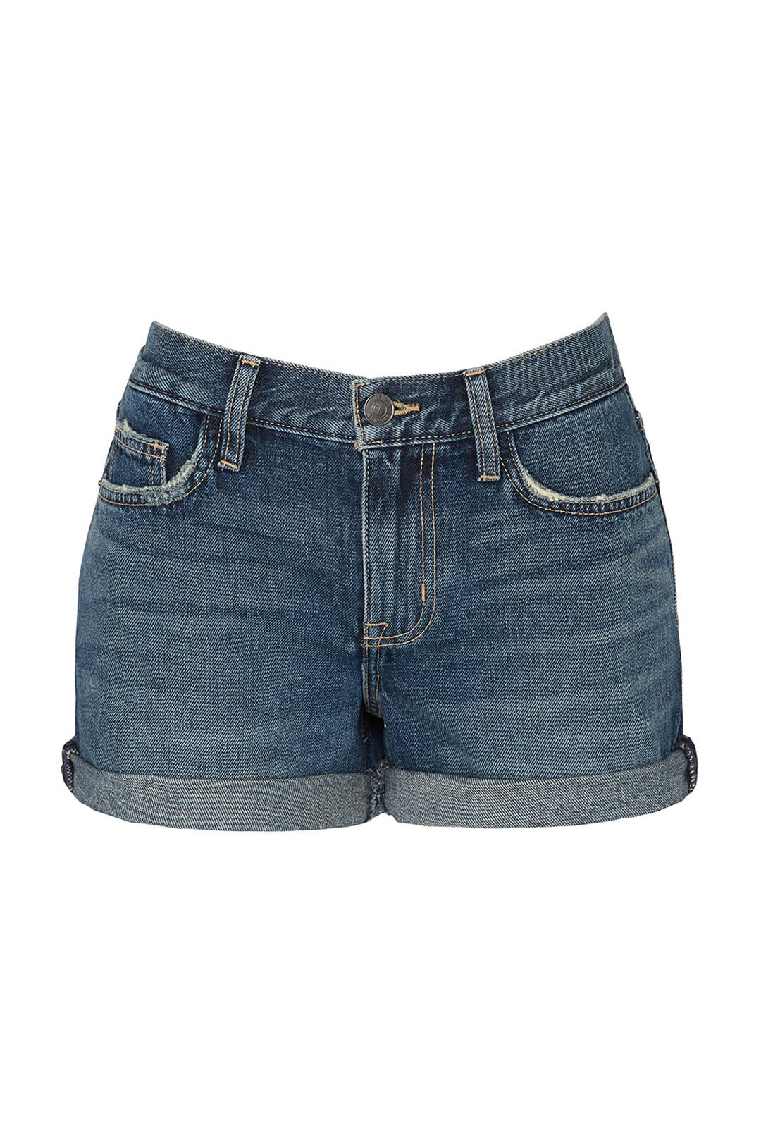 f5a9211e8a The Boyfriend Rolled Shorts by Current Elliott for  30