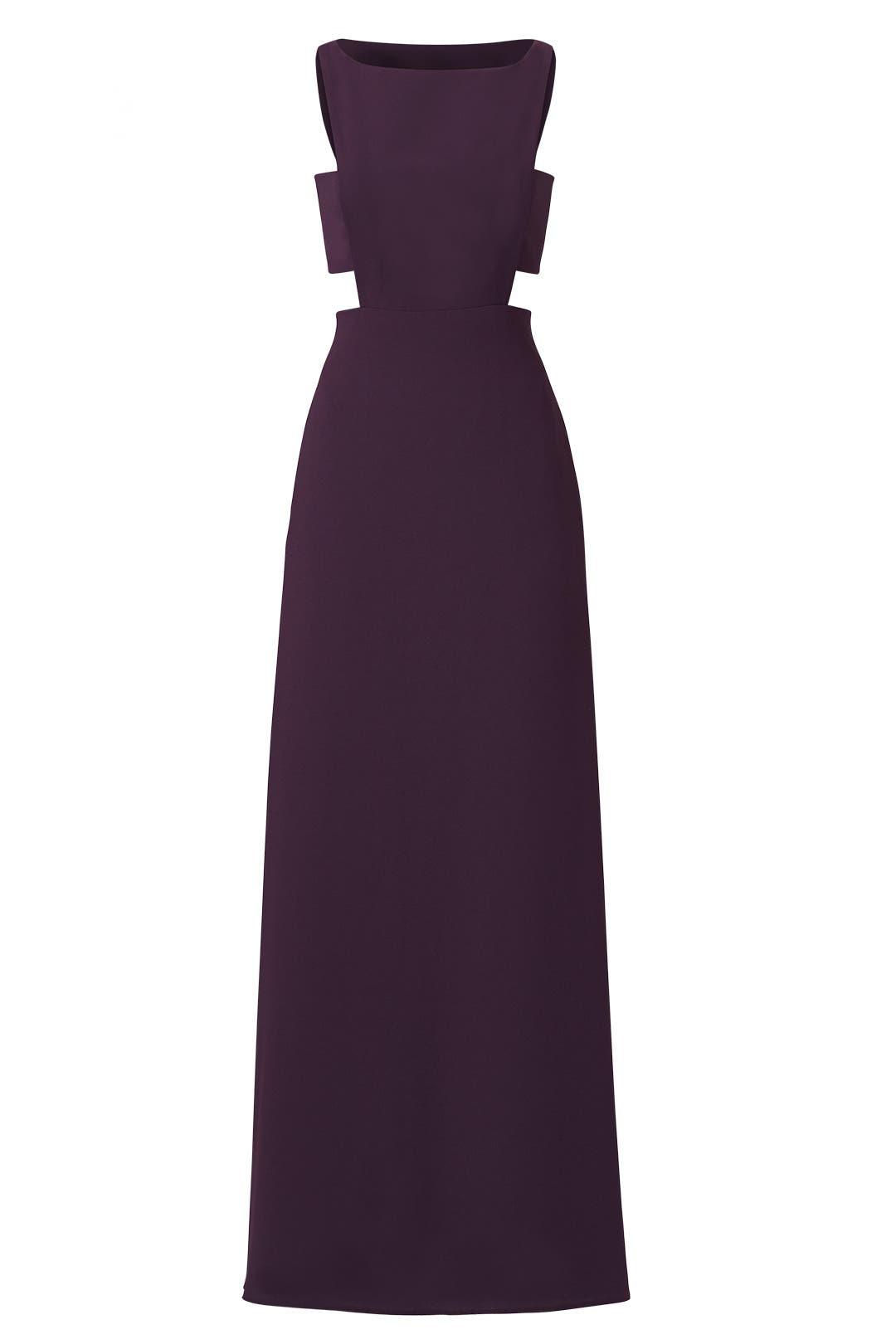 Elderberry Side Cut Out Gown by Jill Jill Stuart for $75 - $85 ...