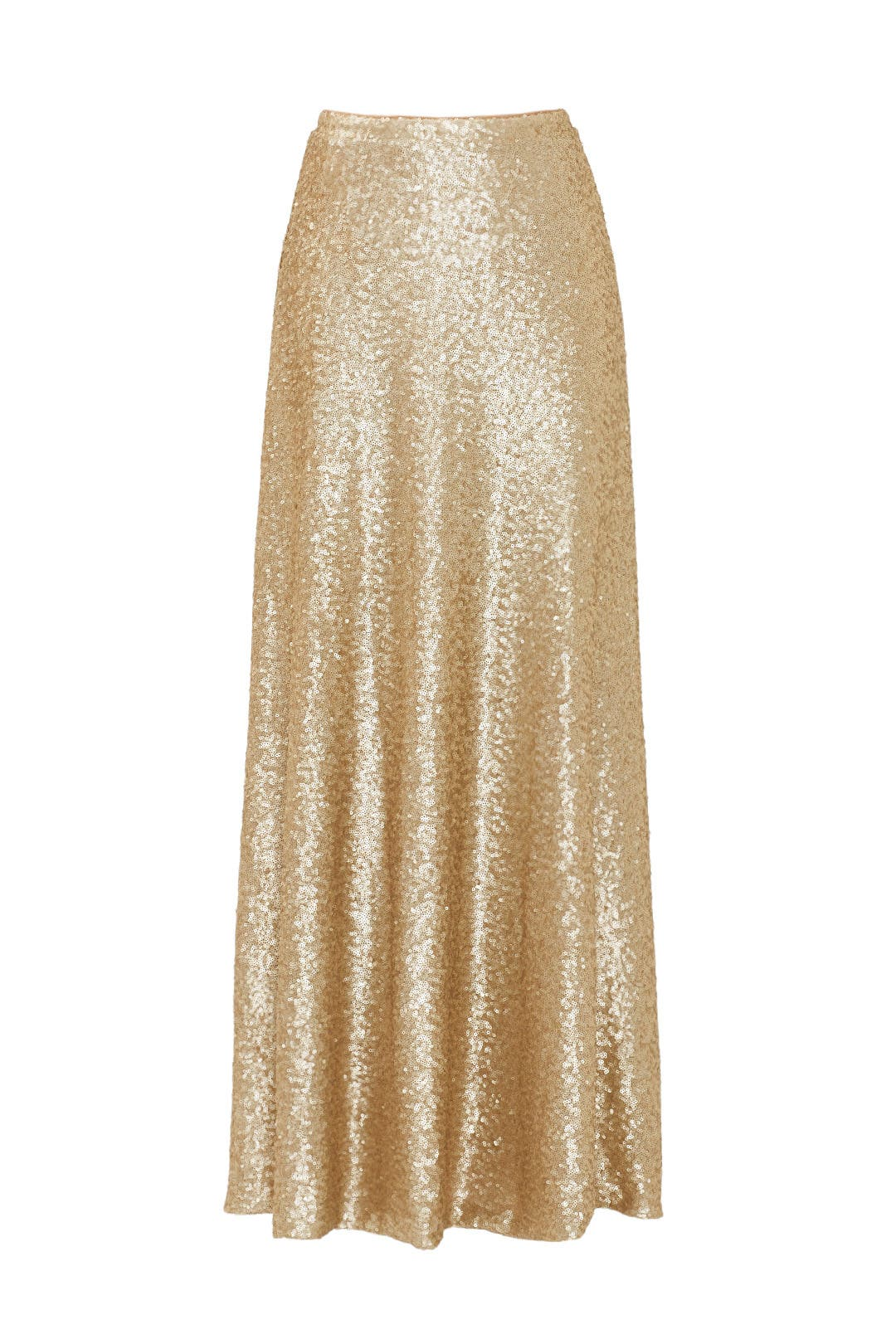Gold Cecilia Maxi Skirt by Slate & Willow for $30 - $50 | Rent the ...
