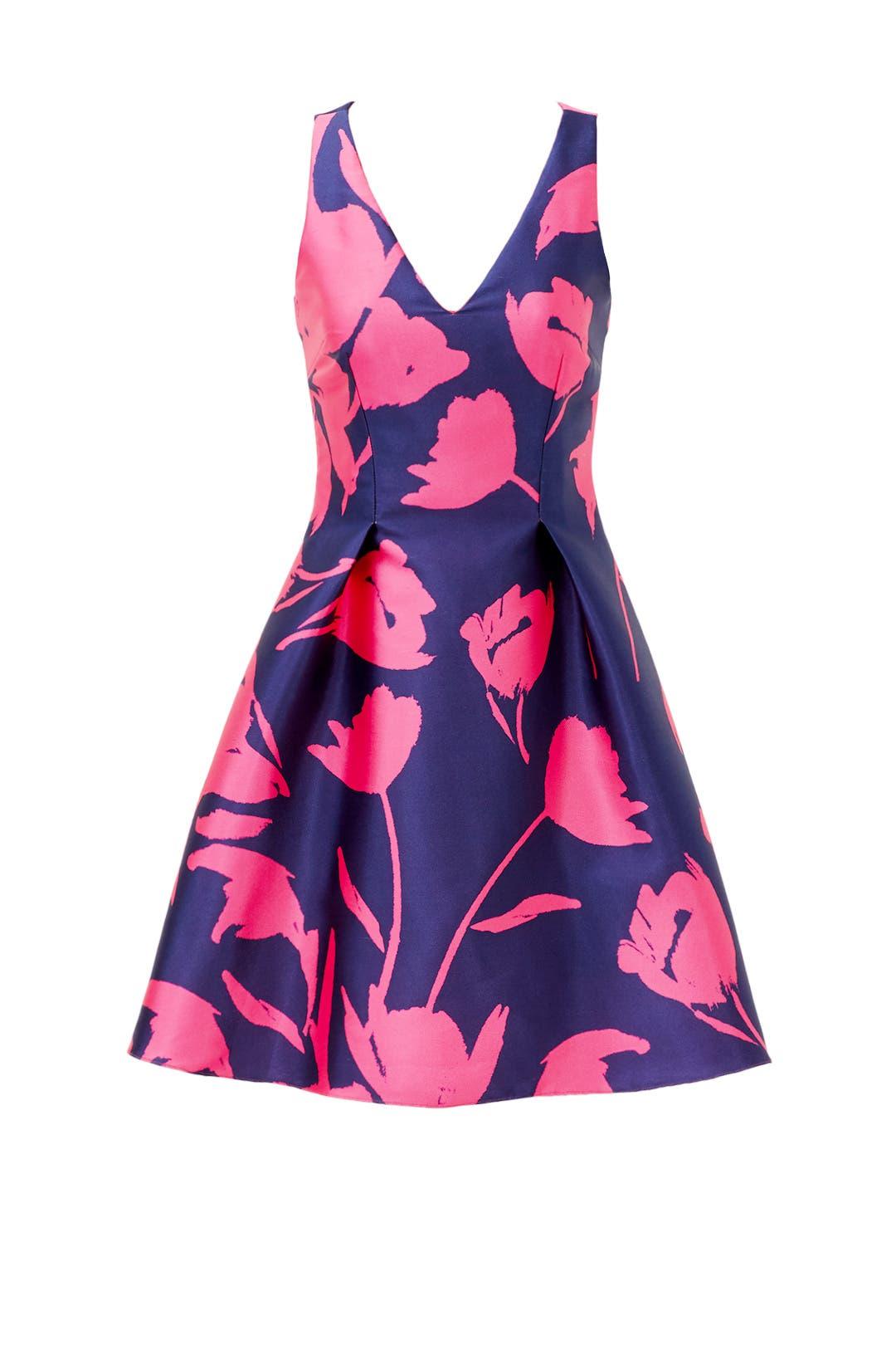 Navy Calla Dress by Sachin & Babi