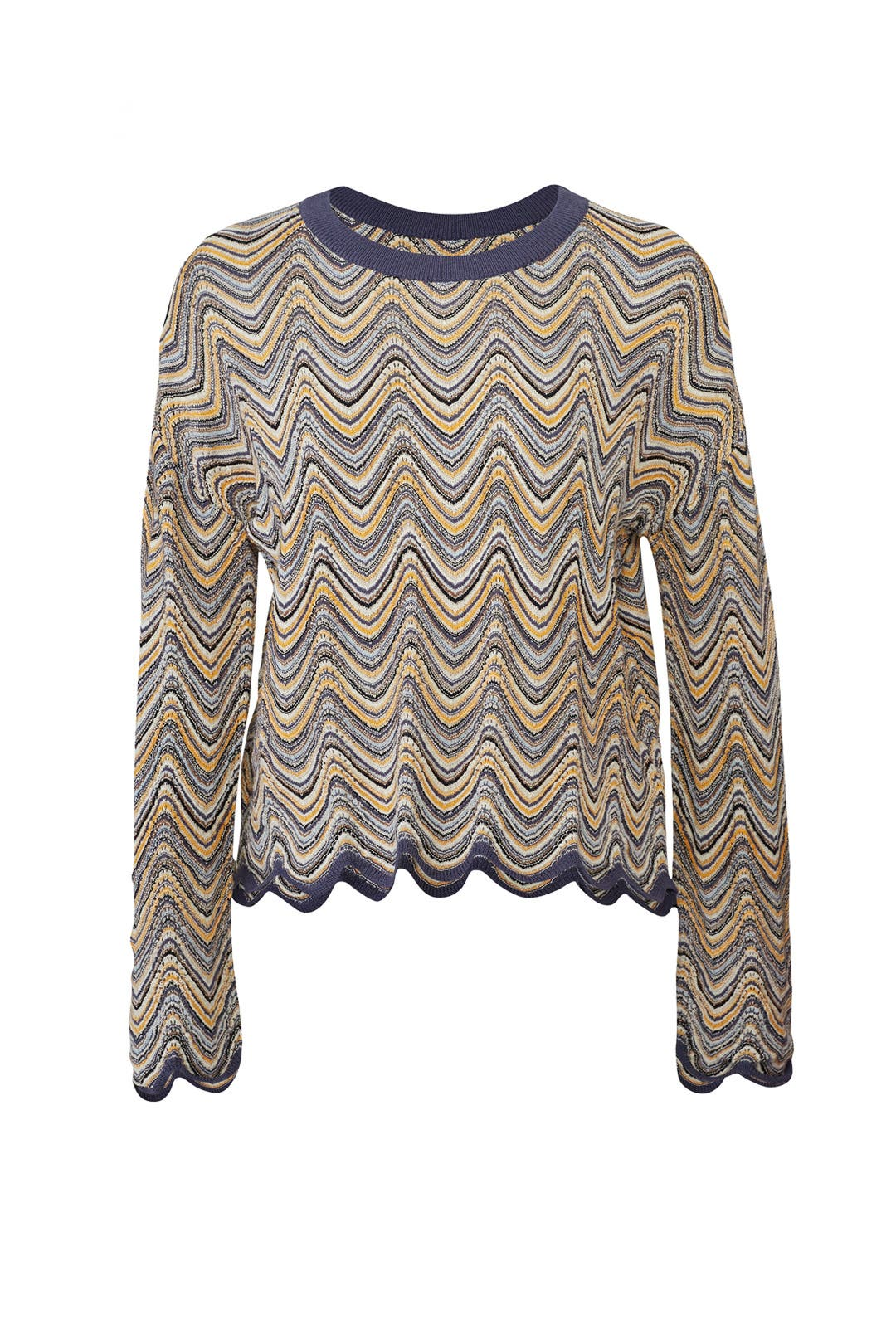 48c87f97 Zig Zag Arlo Sweater by M.i.h. Jeans for $50 | Rent the Runway
