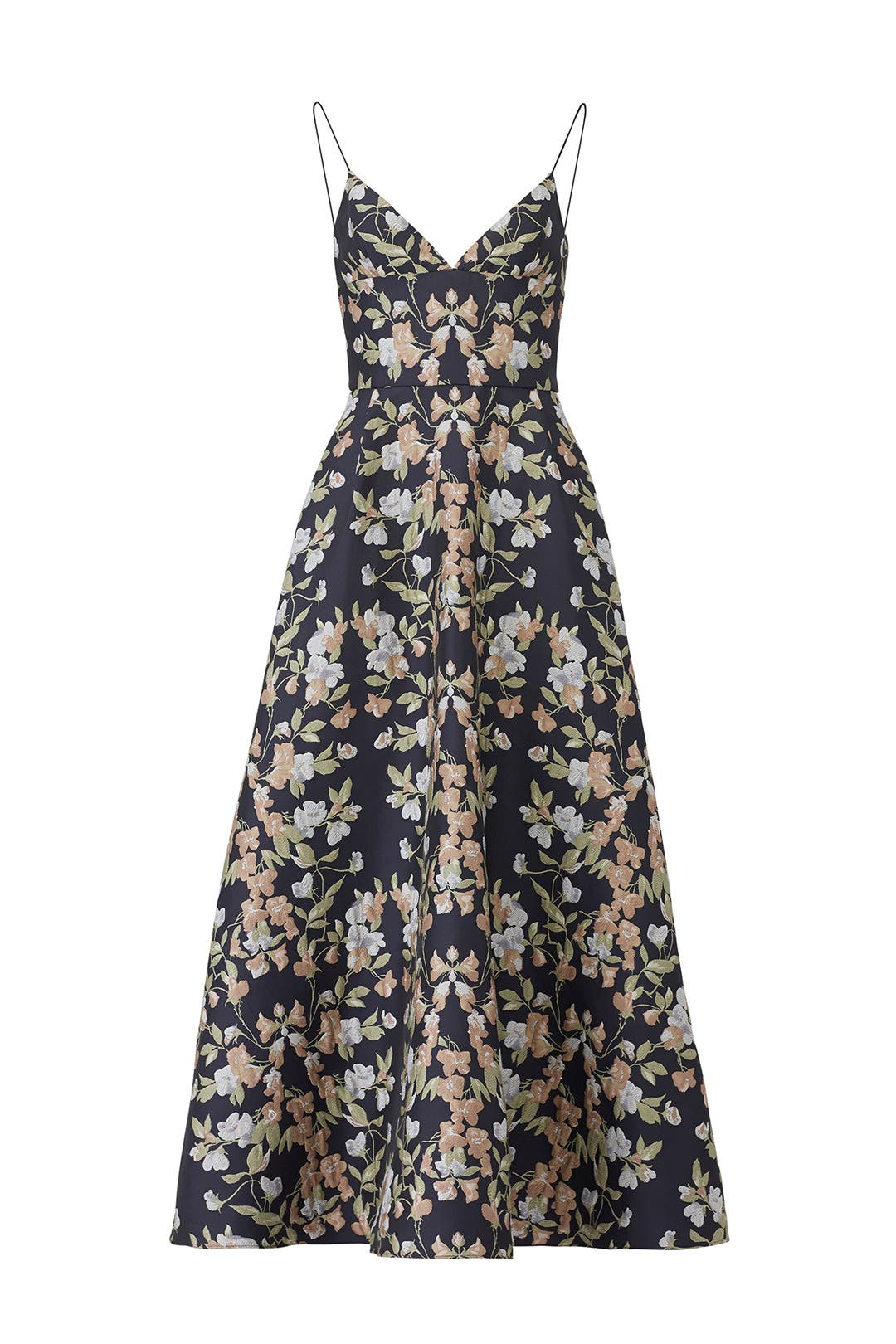 Garden Jacquard Gown by ML Monique Lhuillier for $105 - $115   Rent ...