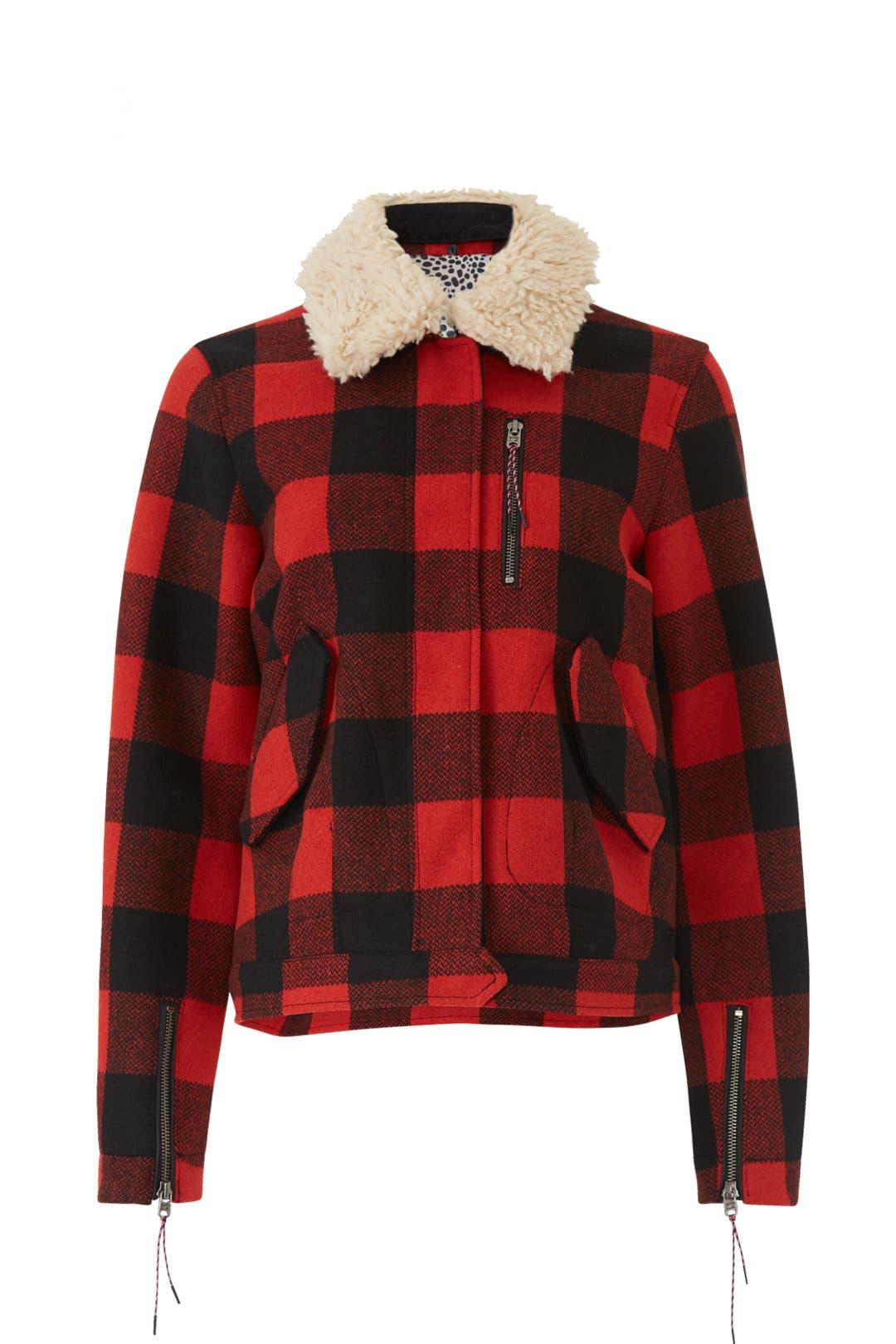 35b261a573e Lumberjack Check Trucker Jacket by Scotch   Soda for  45