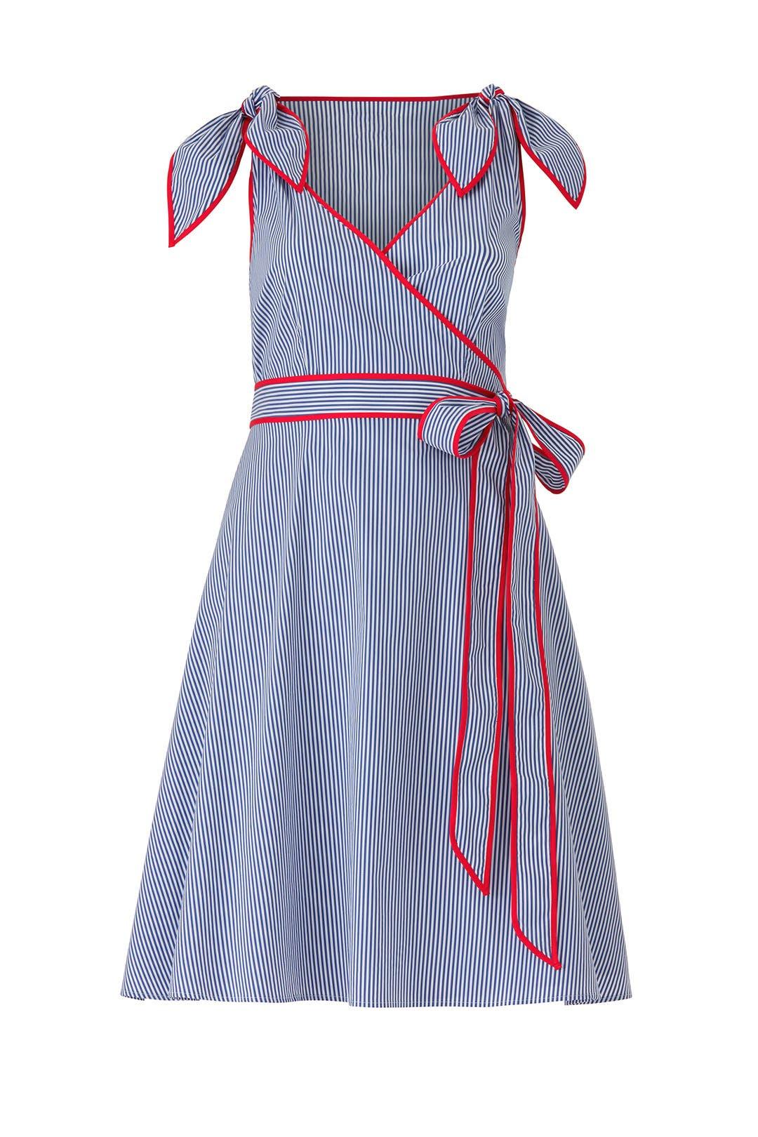 d5b2dca58f8 Stripe Wrap Dress by Draper James X ELOQUII for  30