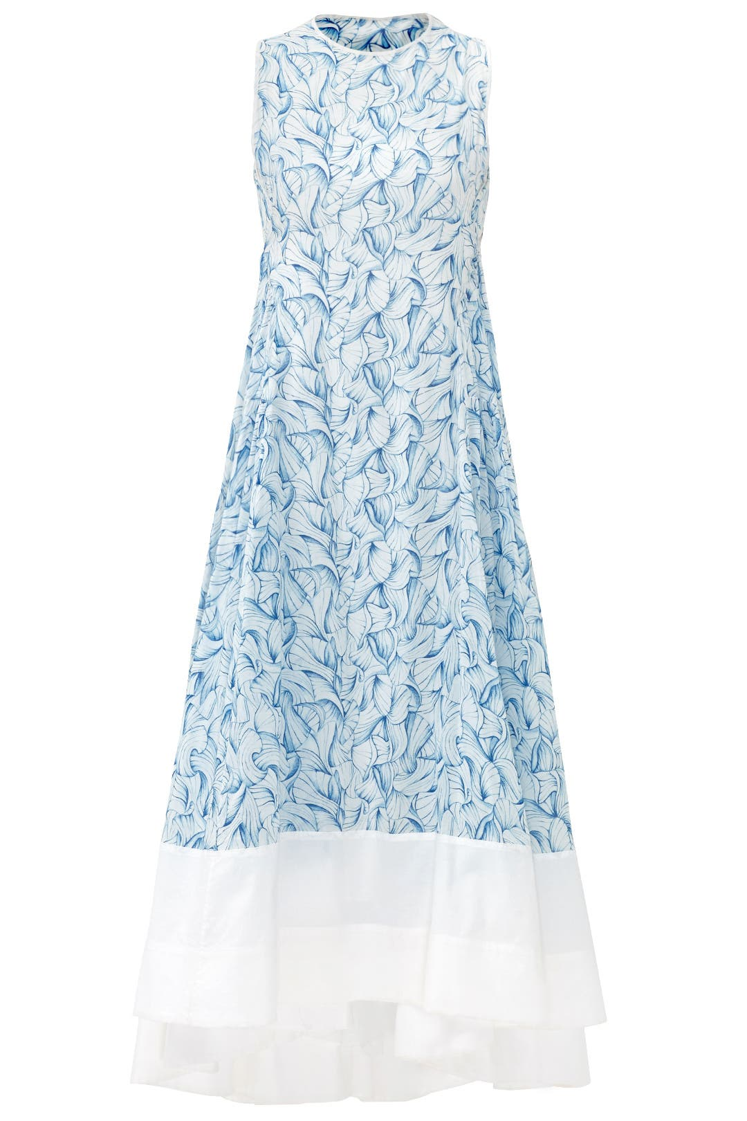 Dress for Women, Evening Cocktail Party On Sale, Blue, Cotton, 2017, 10 Tory Burch