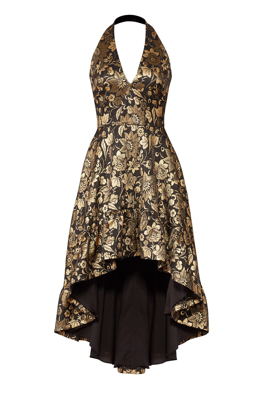 Black and Gold Dress by Nicole Miller for $55 - $75 | Rent the Runway