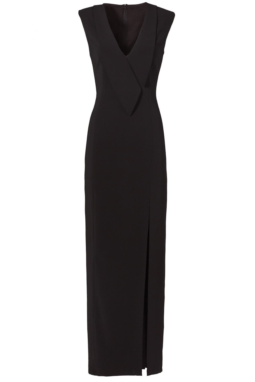Tuxedo Wrap Gown by Slate & Willow for $70 - $90   Rent the Runway