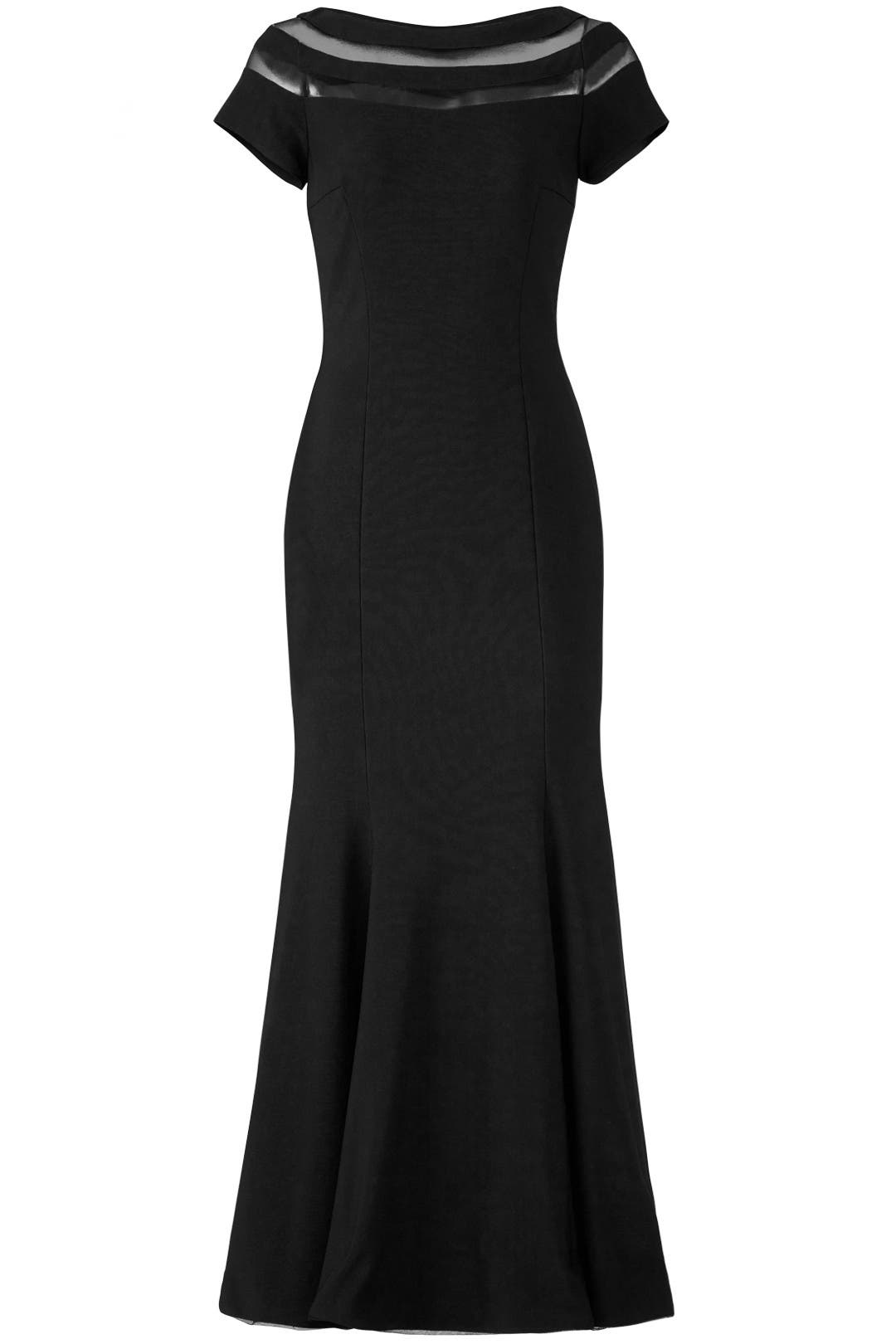 Illusion Panel Gown by JS Collection for $50 - $70 | Rent the Runway