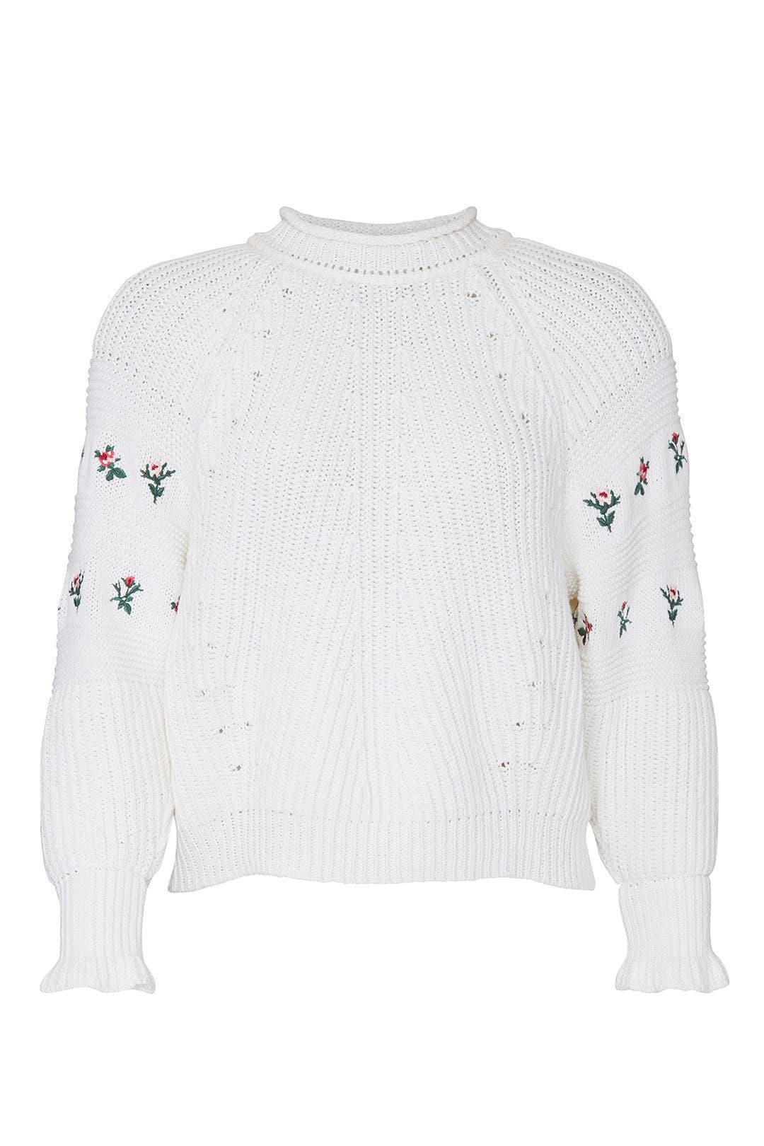 Philosophy di Lorenzo Serafini Knit Embroidered Sweater