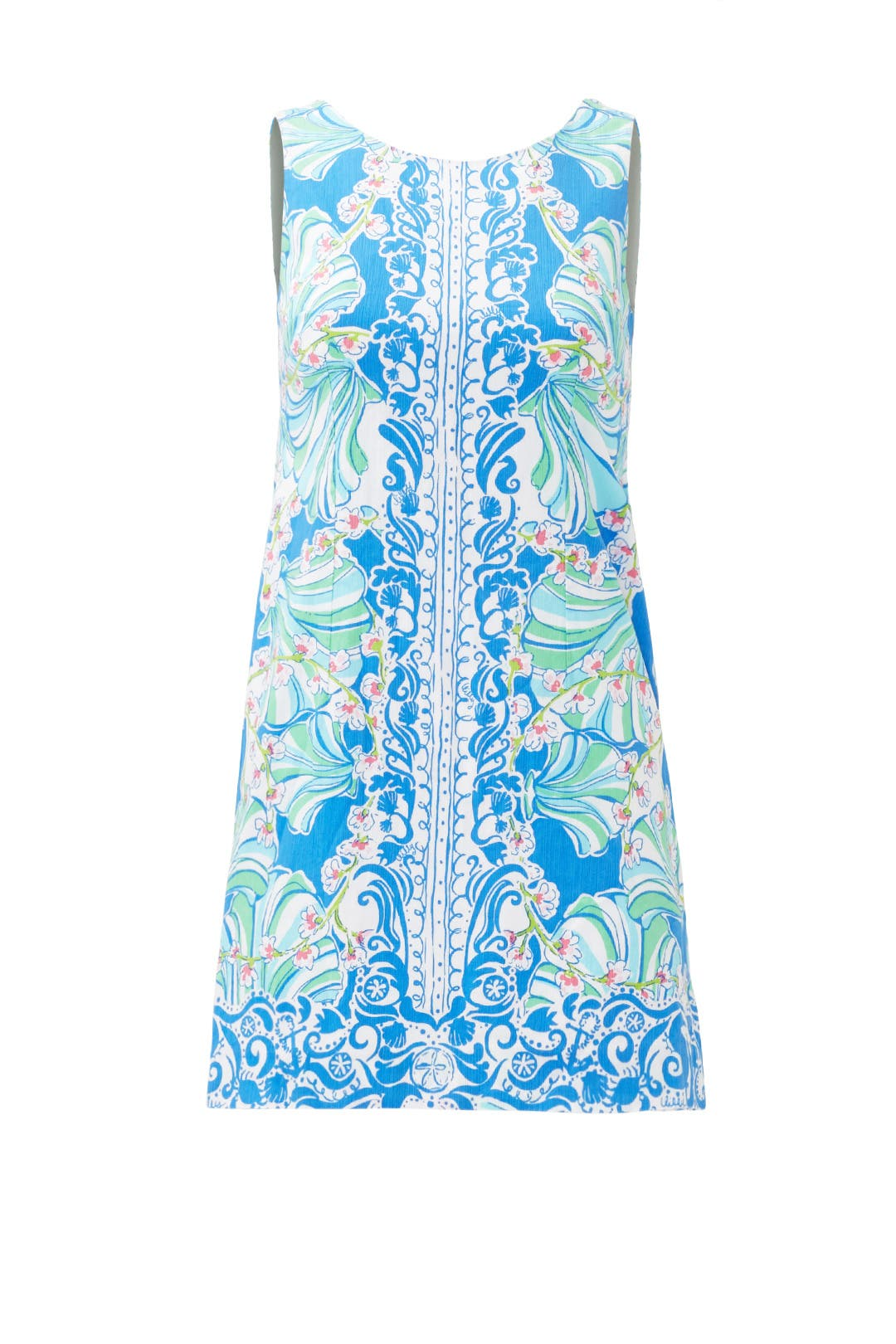 Blue Shell Shift by Lilly Pulitzer for $40 - $55 | Rent the Runway