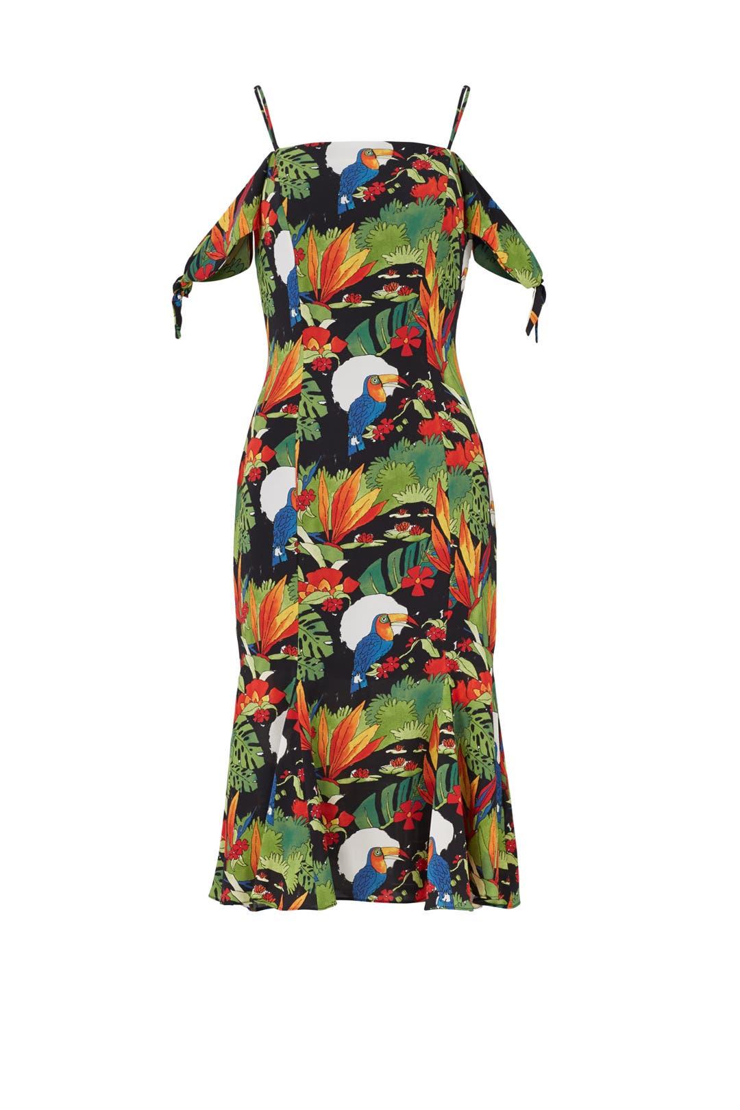 Tibi ipanema maxi dress