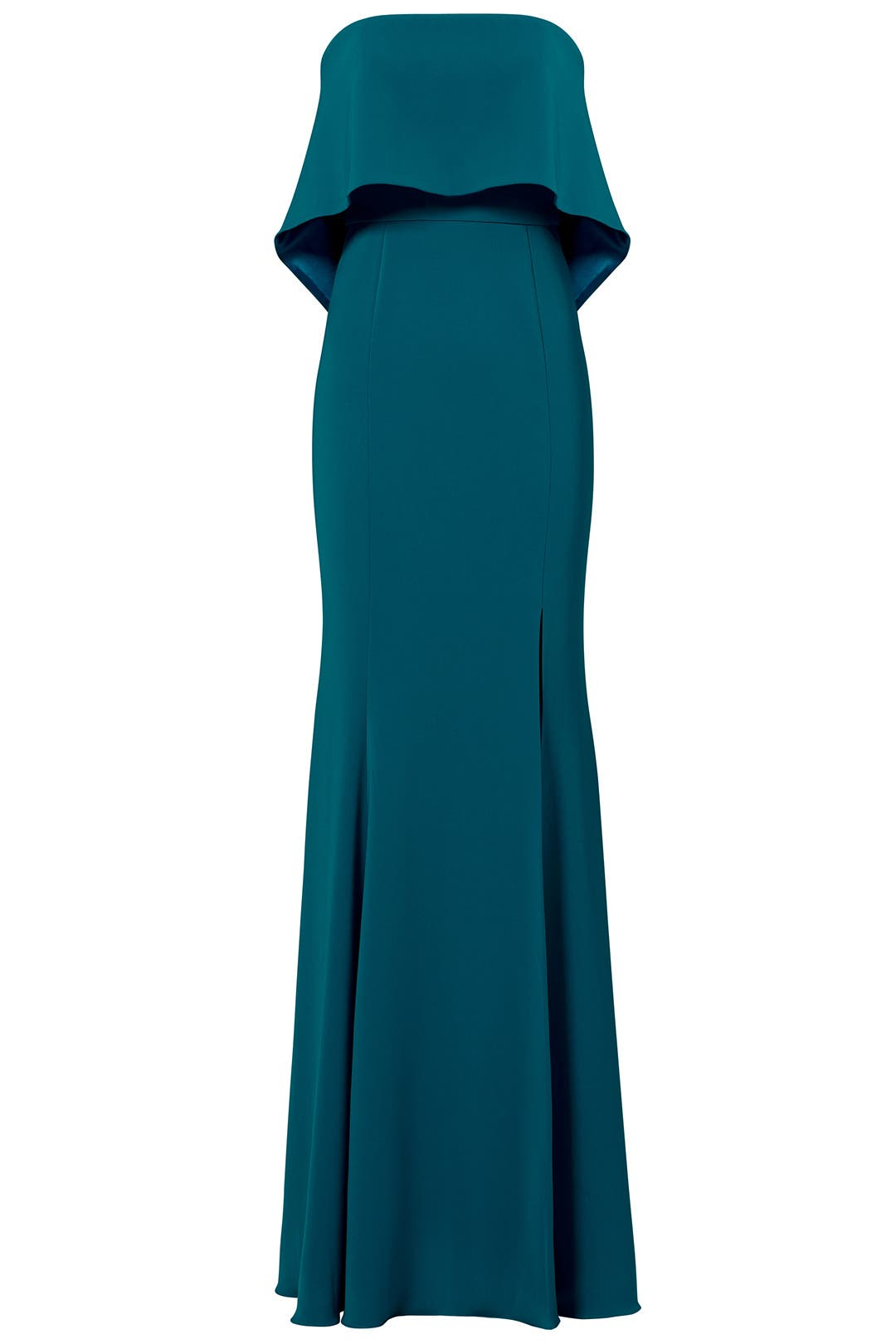 Teal Clarke Gown by Jay Godfrey for $80 - $90 | Rent the Runway