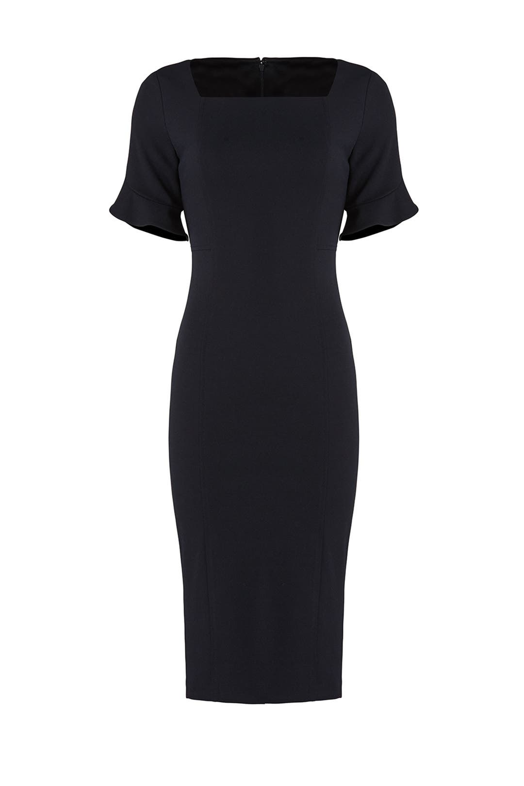 d1b02002bc25 Navy Square Dress by Donna Morgan for $30   Rent the Runway