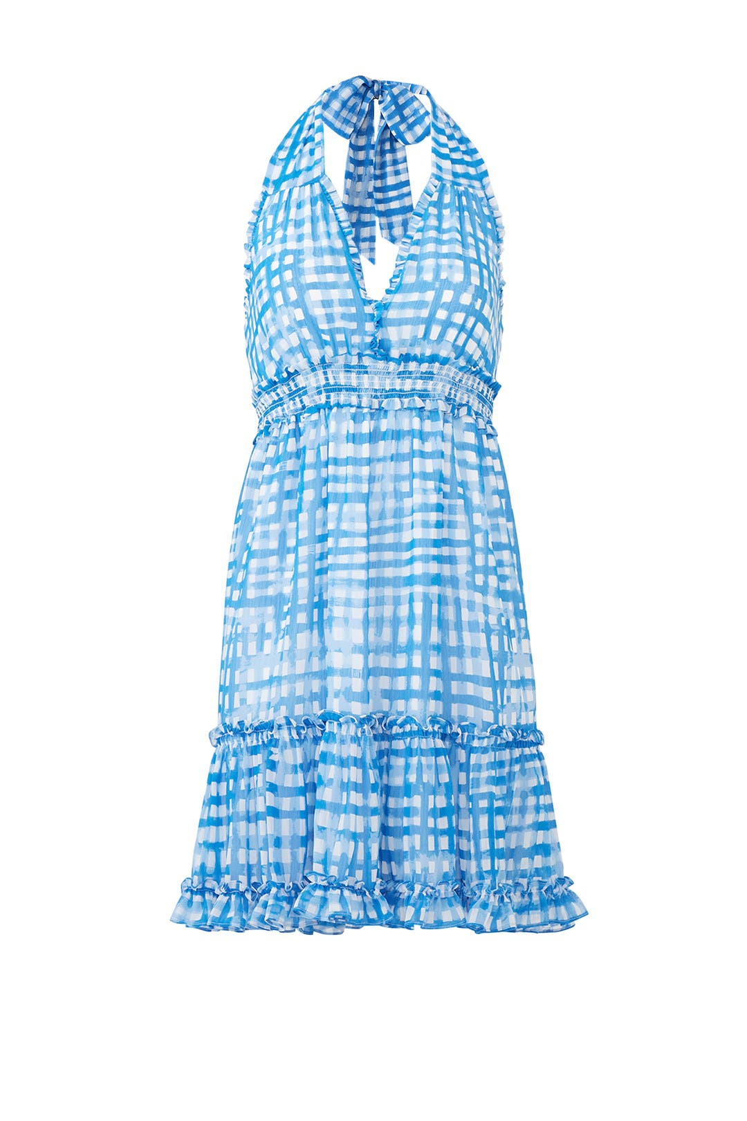 Blue Gingham Cailee Dress by Lilly Pulitzer for $30 | Rent the Runway