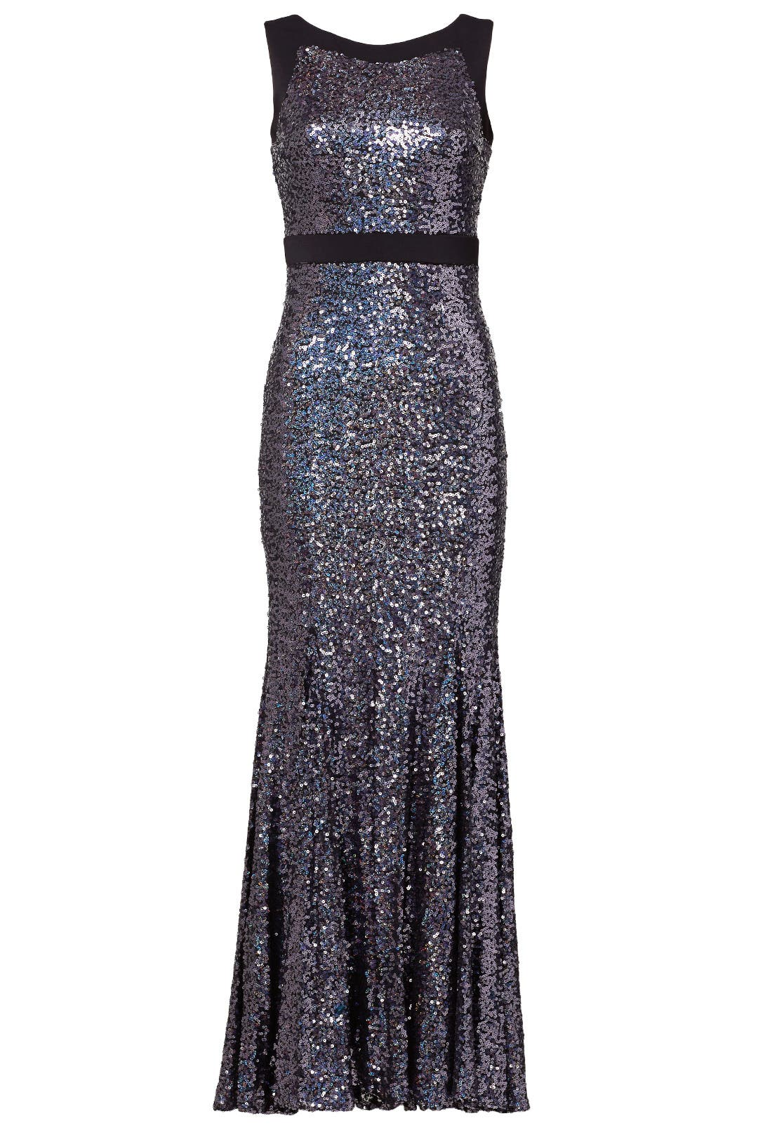 Plum Shine Gown by Badgley Mischka for $70 | Rent the Runway