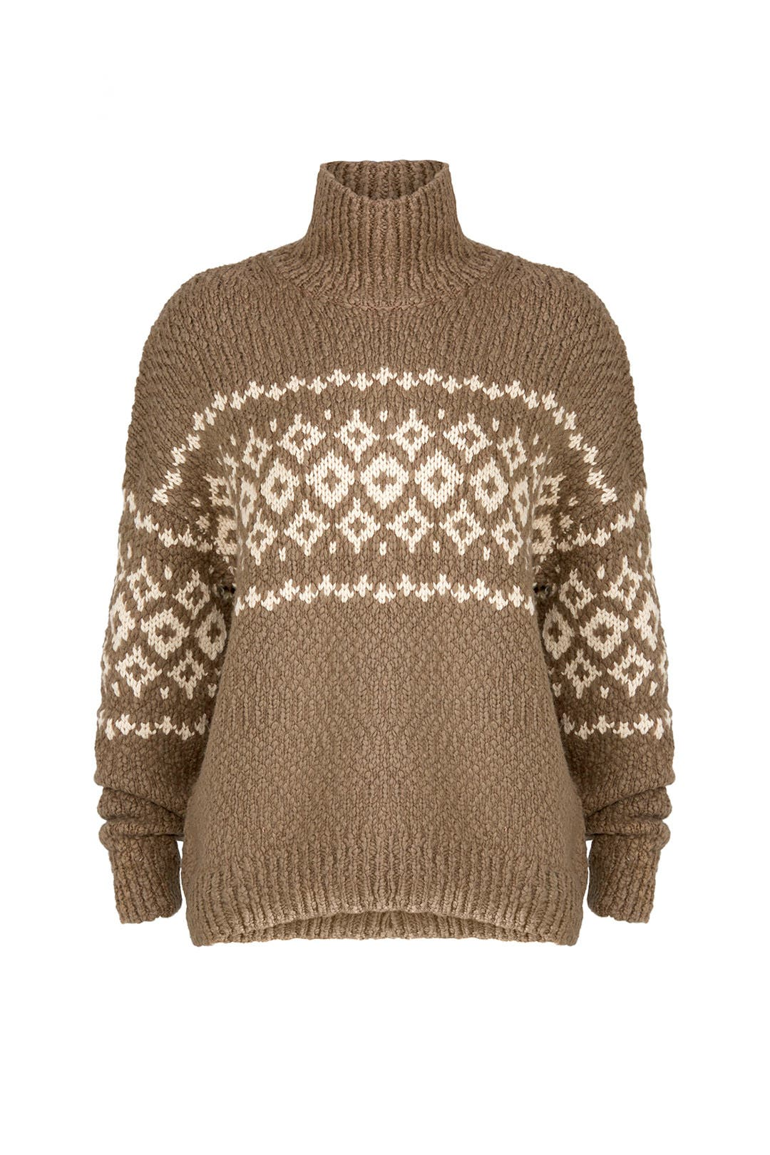 Fair Isle Sweater by VINCE. for $85 | Rent the Runway
