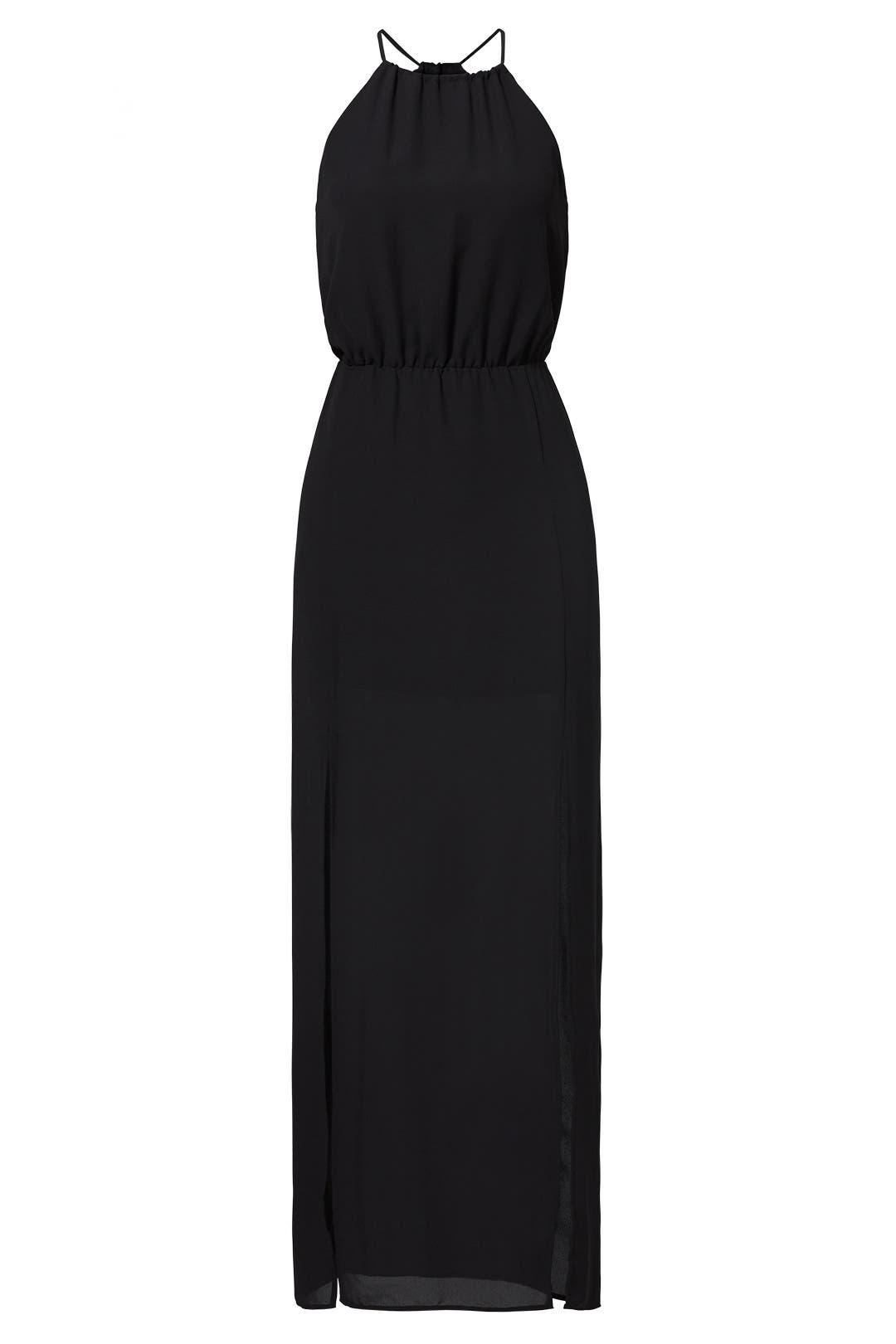 Bcbg maxi dress black and white party