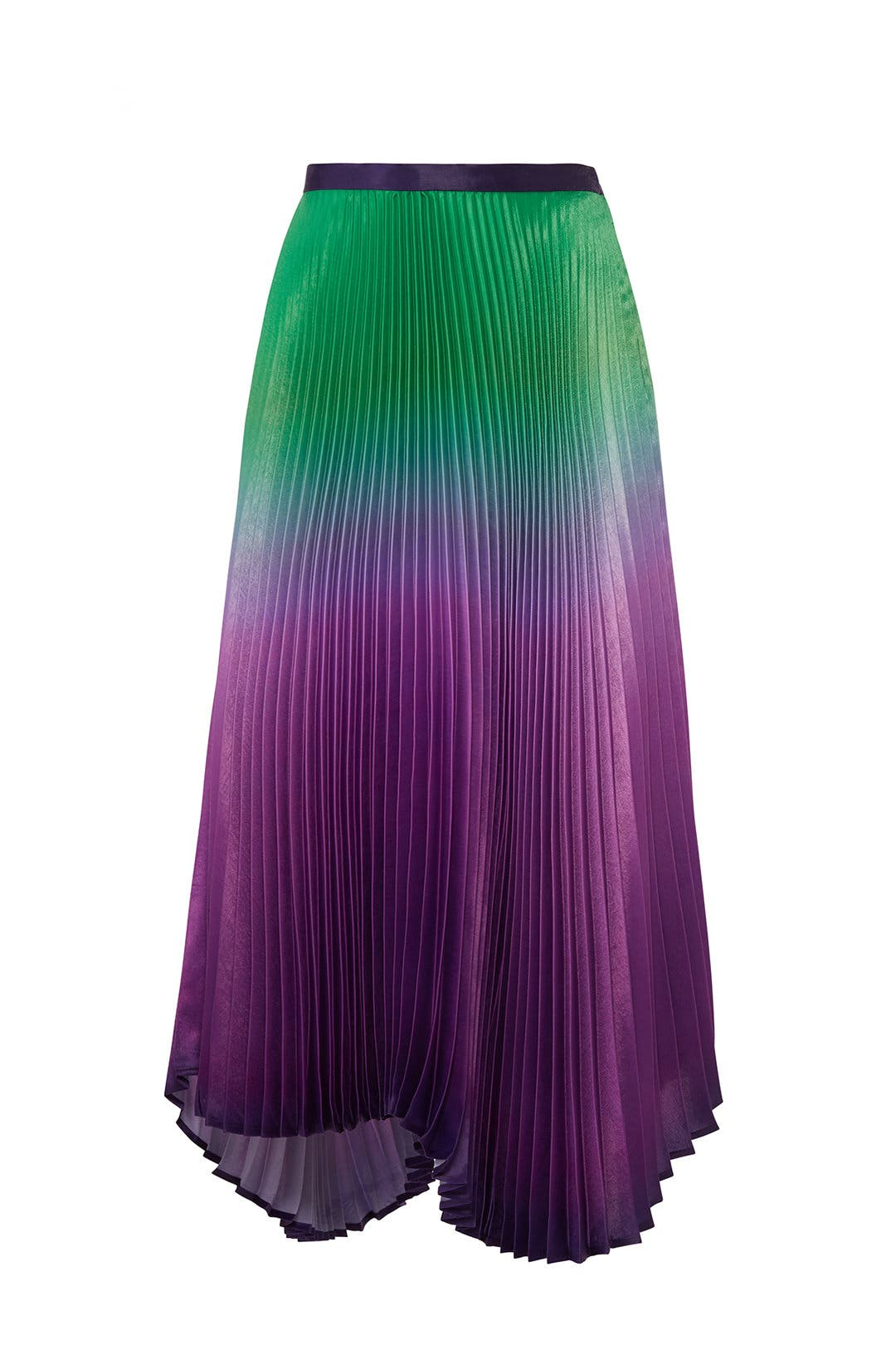 527453dac3 Pleated Ombre Clara Skirt by DELFI Collective for $70 - $80 | Rent the  Runway