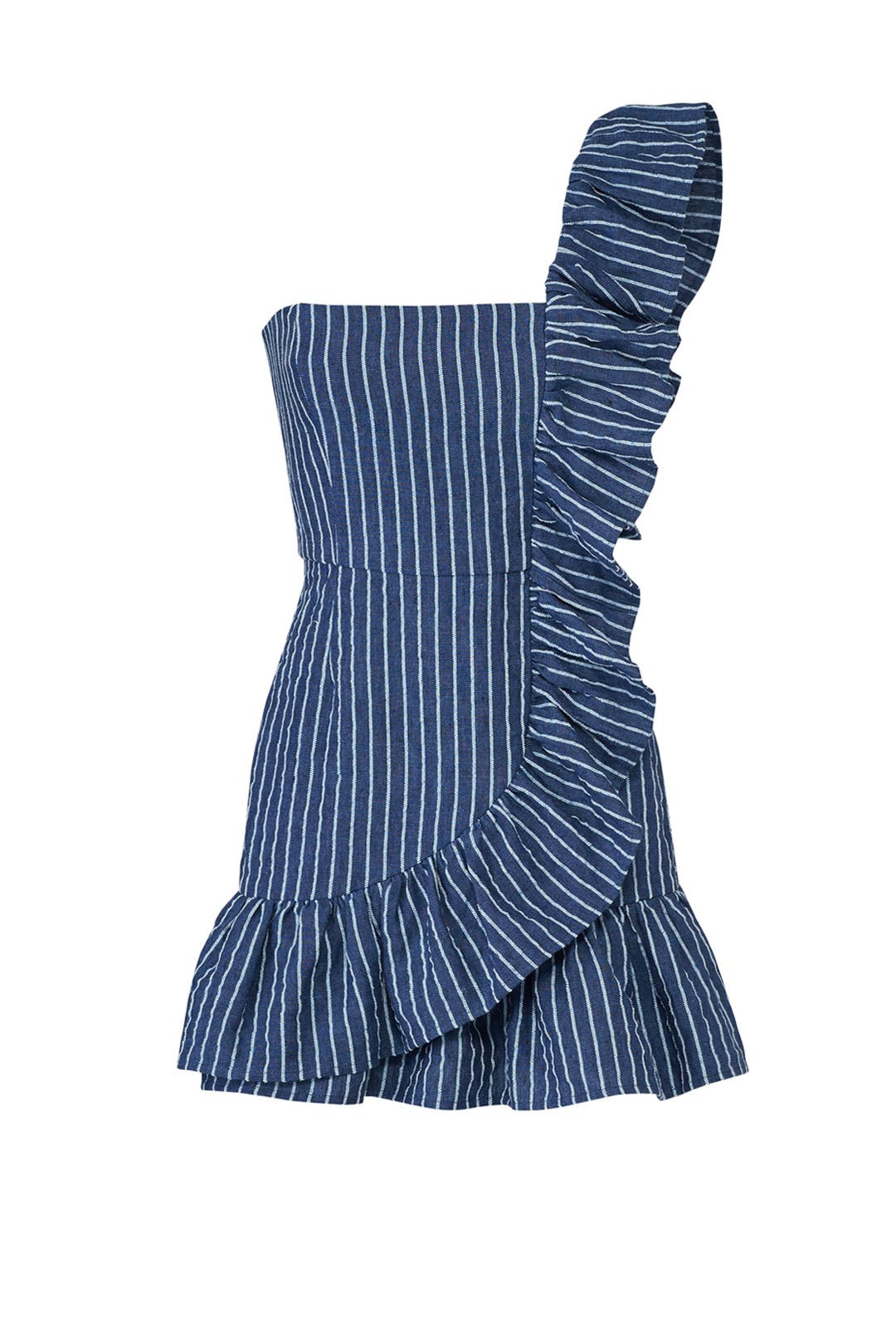 Konner Blue Stripe Dress by Alexis for $70 - $80   Rent the Runway