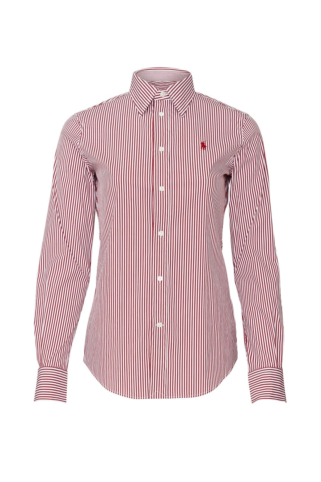 Lauren Shirt Striped Ralph Red Polo P0kwXN8nO