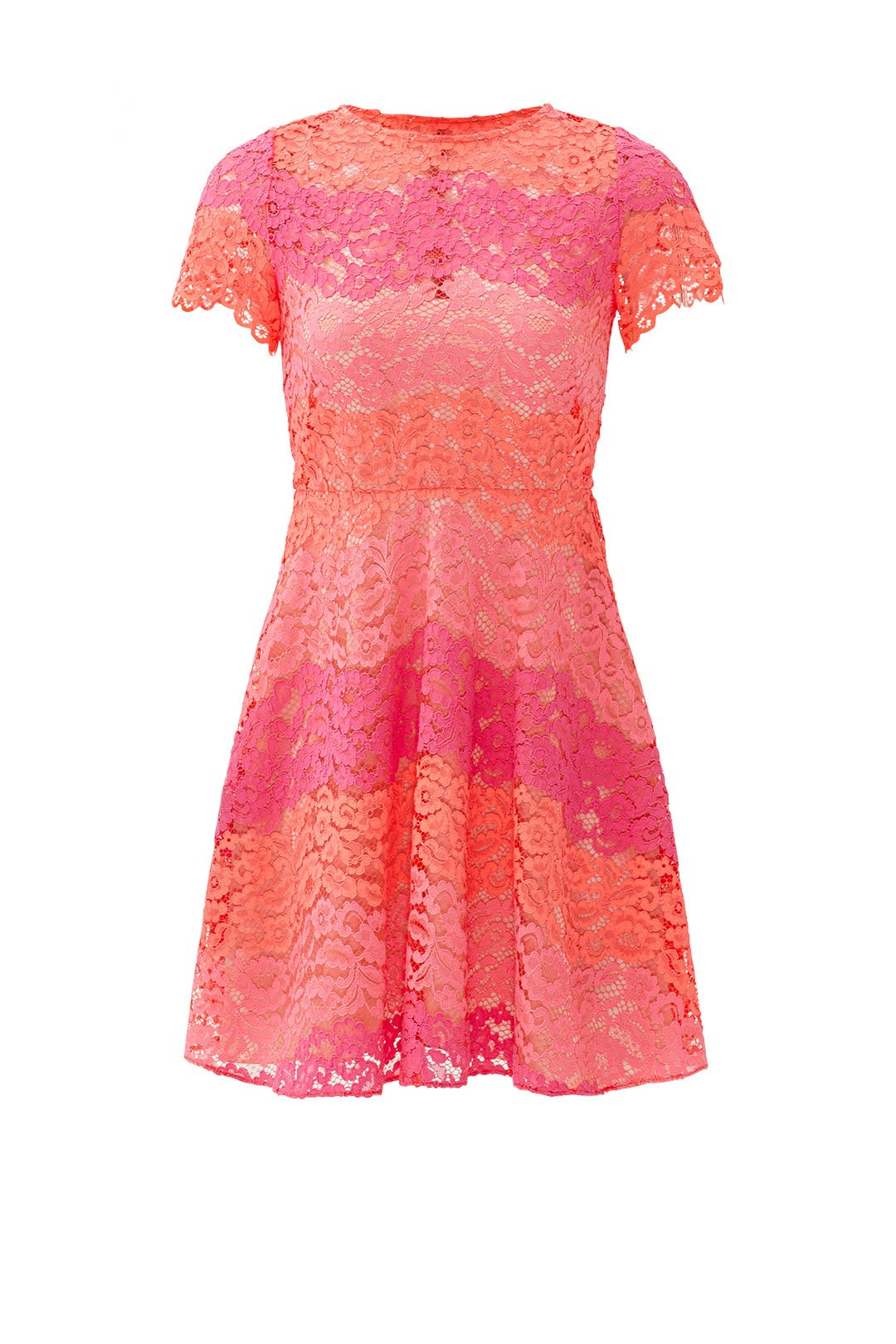 Pink Multi Rio Dress by Shoshanna for $45 - $65   Rent the Runway