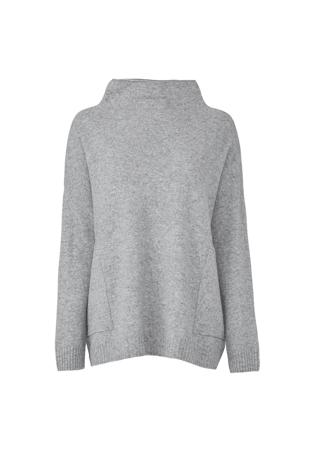 Grey Big Easy Sweater by BROWN ALLAN for $30 | Rent the Runway