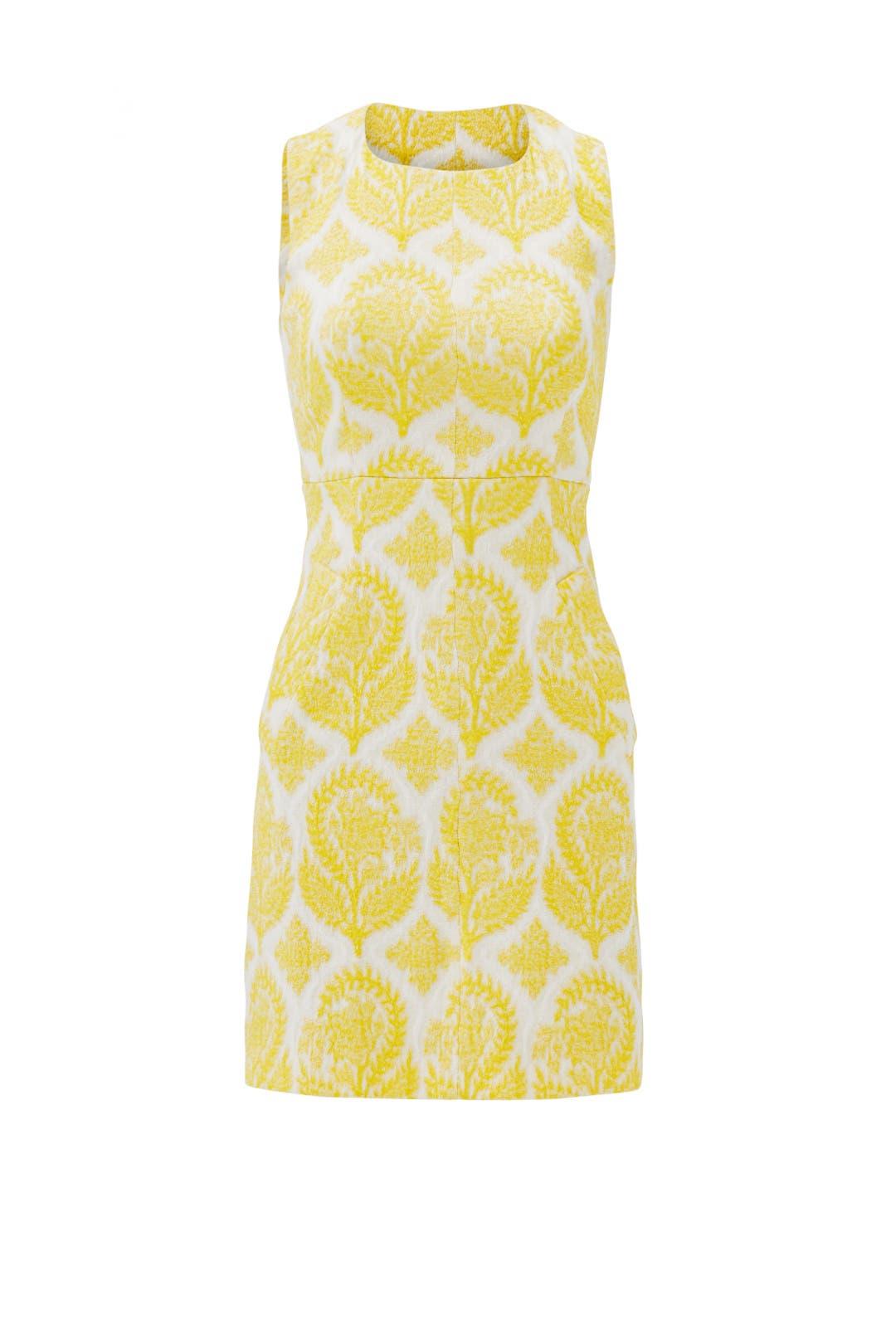 Lemon Meringue Sheath by Diane von Furstenberg
