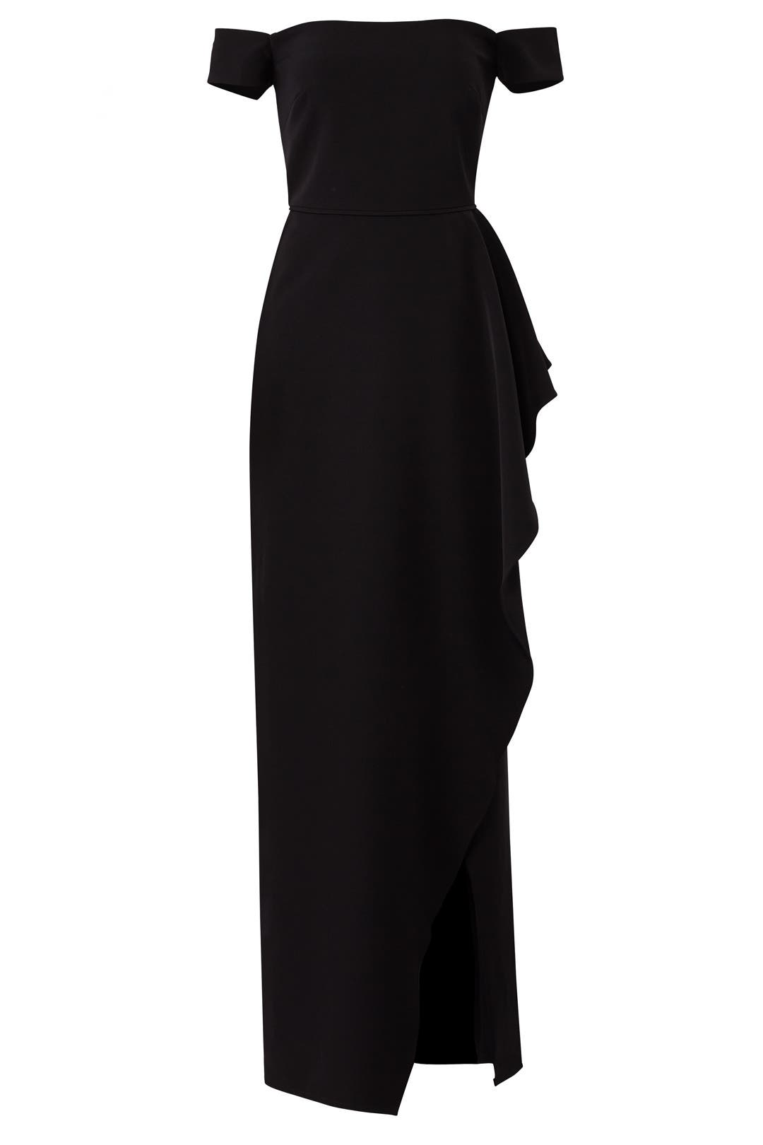 Off Shoulder Split Gown by JS Collection for $50 - $70 | Rent the Runway