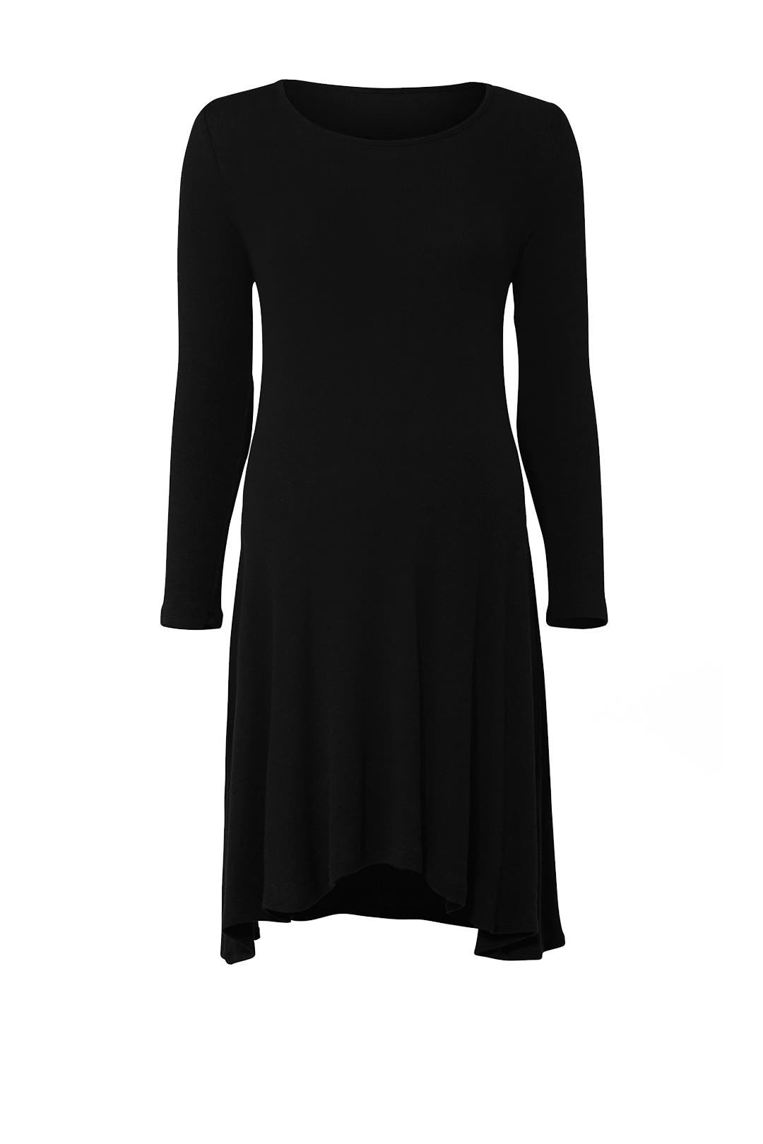 de0a8e6f71a36 Black Trapeze Maternity Dress by Ingrid & Isabel for $30 | Rent the ...