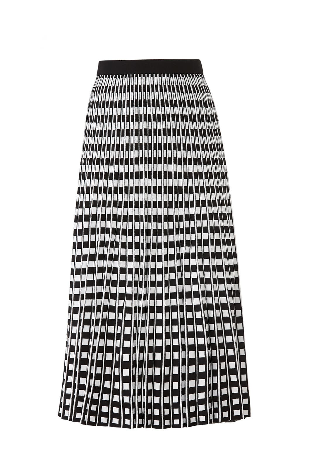 38d4a9fcb3 Pleated Check Skirt by Derek Lam 10 Crosby for $85   Rent the Runway