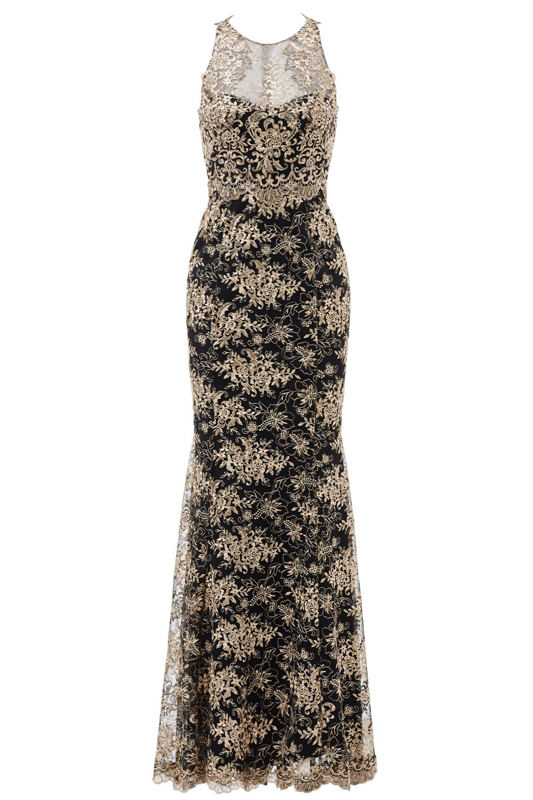 Gilded Garden Gown by Marchesa Notte for 150 200 Rent the Runway