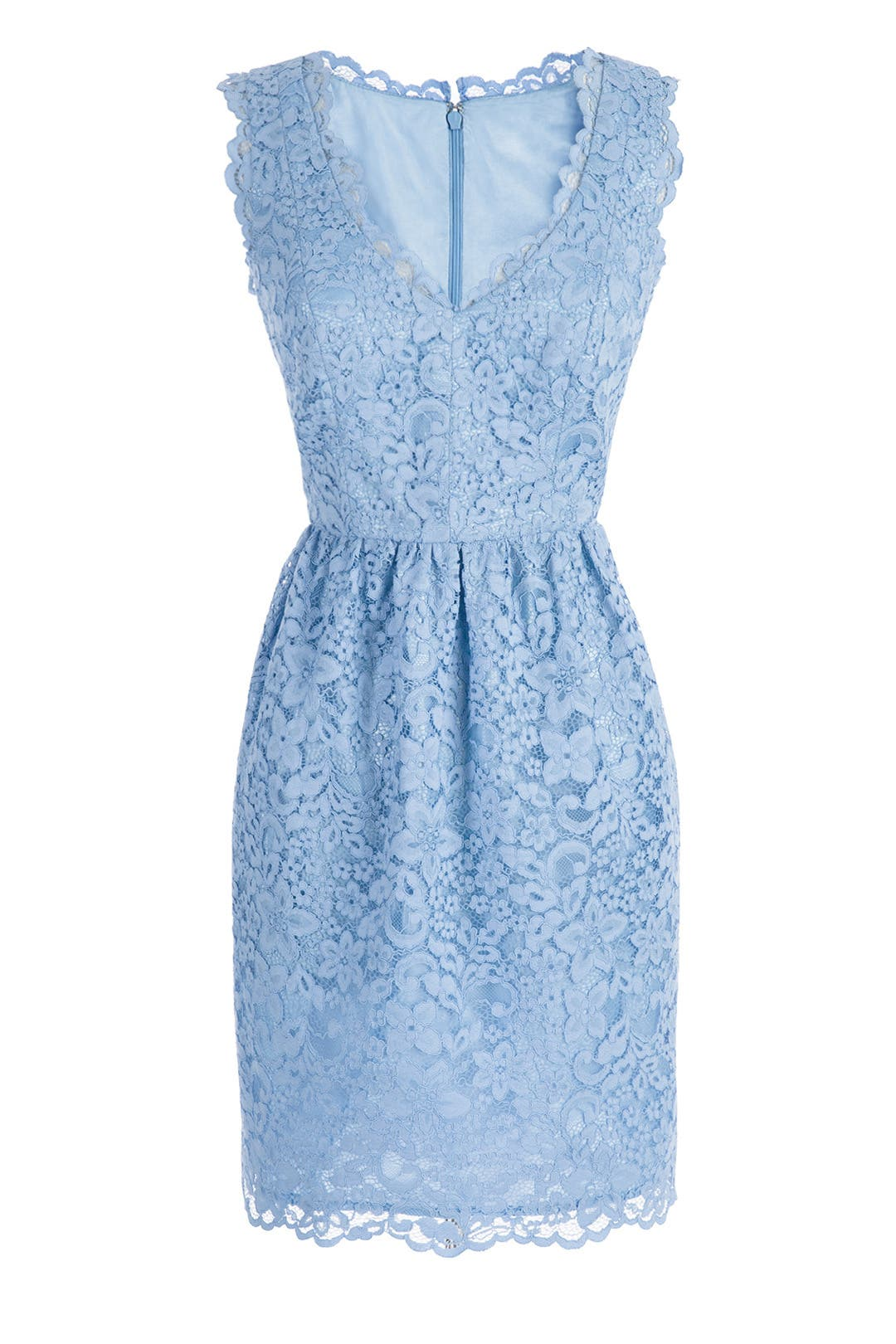 Periwinkle Lace Sierra Dress by Shoshanna for $55 - $75 | Rent the ...
