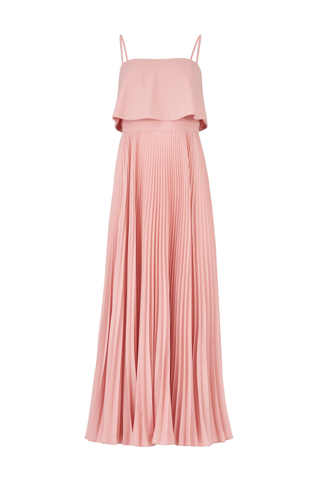 Rose Water Pleated Gown by Jill Jill Stuart for $50 - $80 | Rent the ...