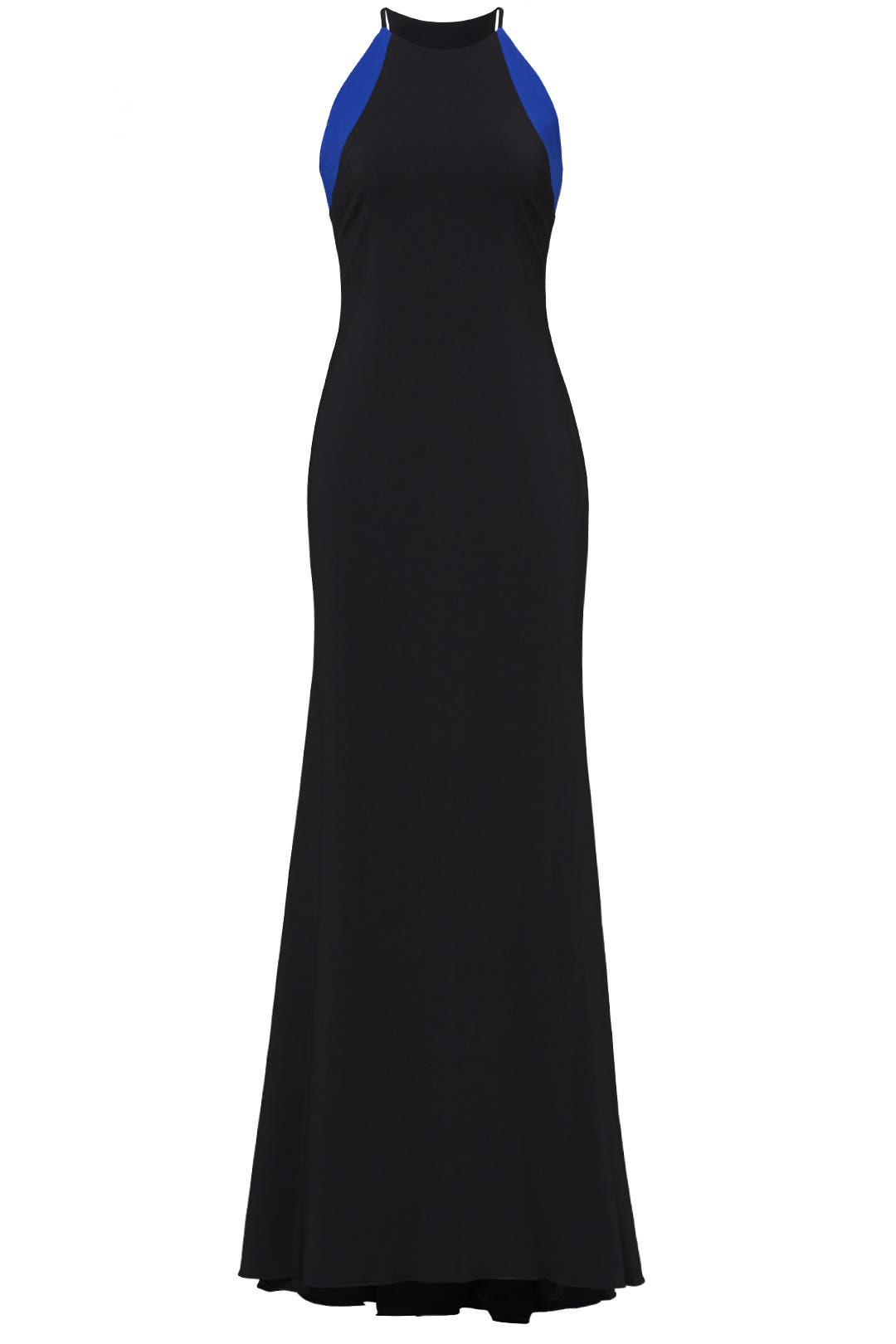 Cobalt Stripe Racerback Gown by Badgley Mischka for $80   Rent the ...