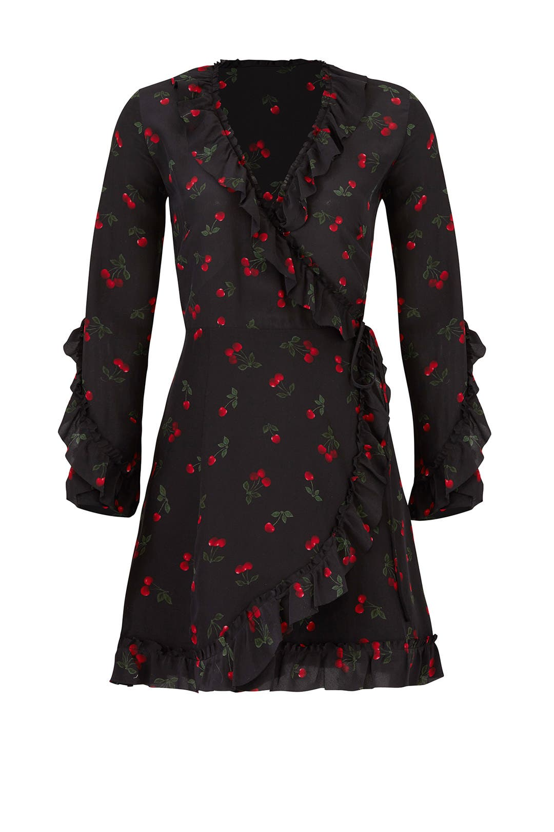 89b80204bc7 Cherry Love Wrap Dress by The Kooples for $149 | Rent the Runway
