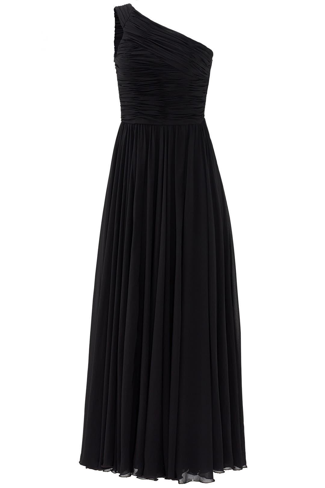 Noir Singapore Sensation Gown by Halston Heritage