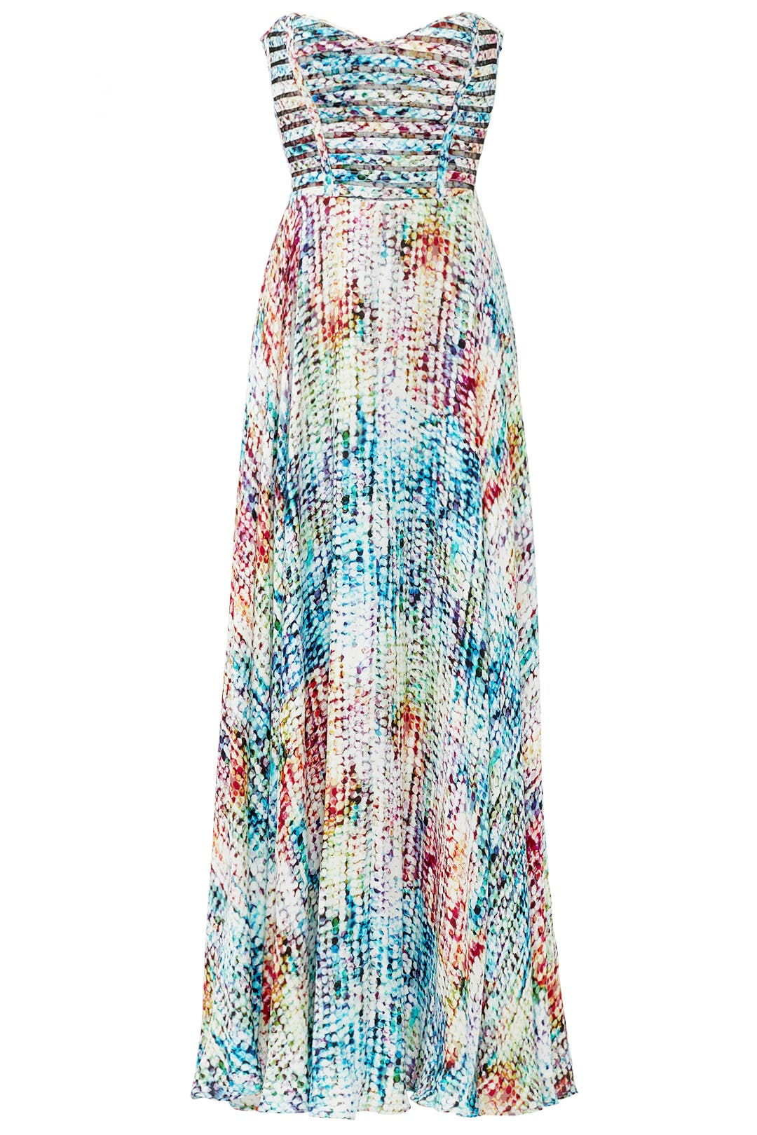 Rainbow Maxi Dress by Parker for $70 - $105 | Rent the Runway