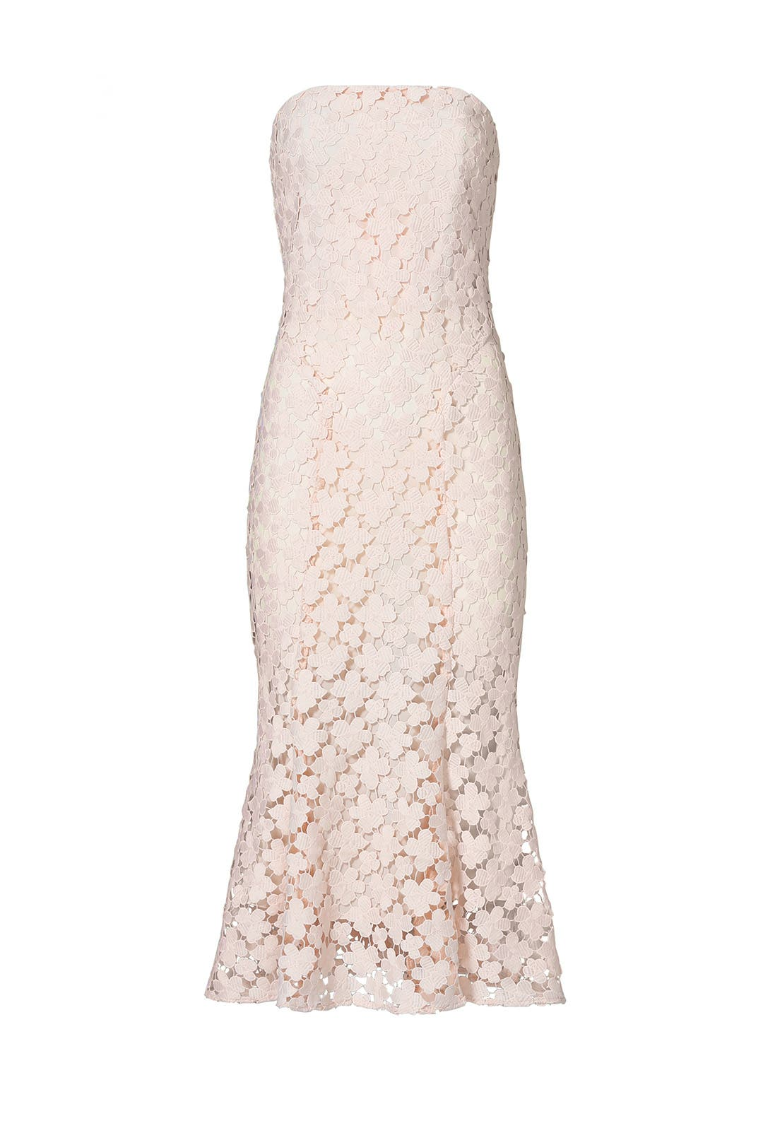 Blush Franklin Midi Dress by Shoshanna for $109 | Rent the Runway