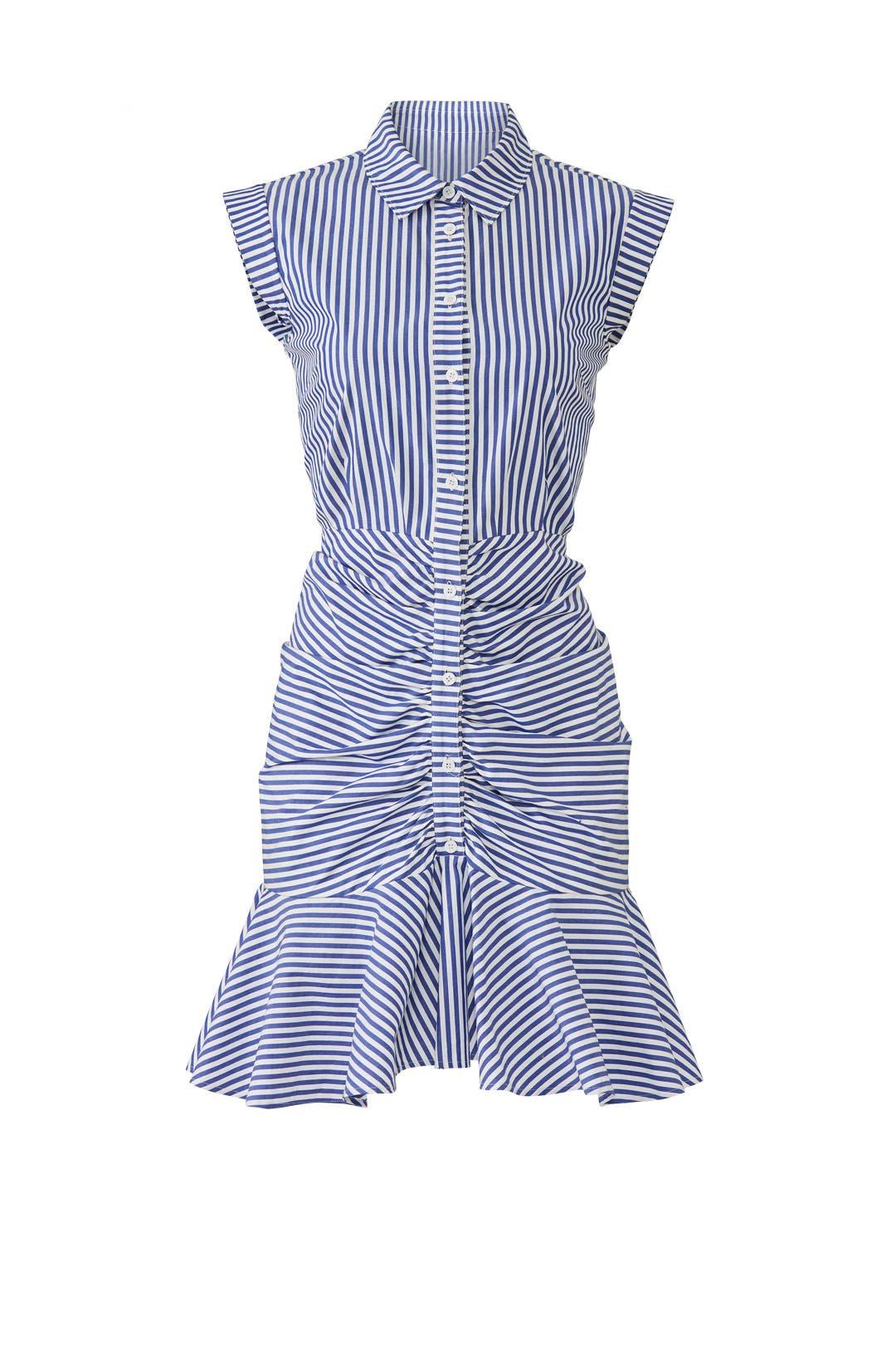 1ddd0c411ed Veronica Beard. Read Reviews. Bell Button Down Ruched Shirtdress