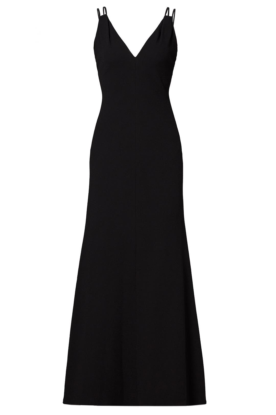 Black Shiloh Gown by Carmen Marc Valvo for $115 - $135 | Rent the Runway