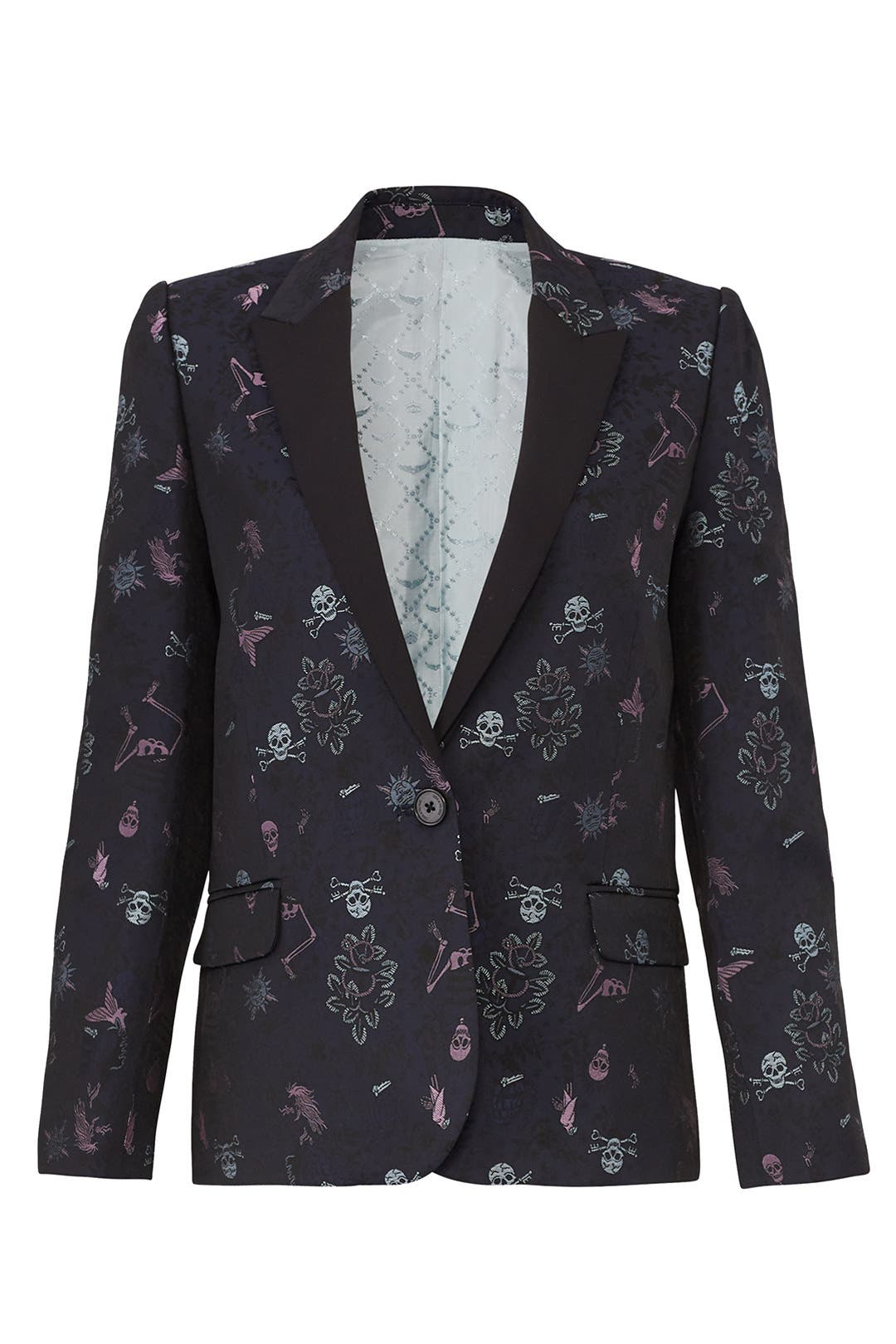 Victor Jac Tattoo Blazer by Zadig & Voltaire for $95   Rent the Runway