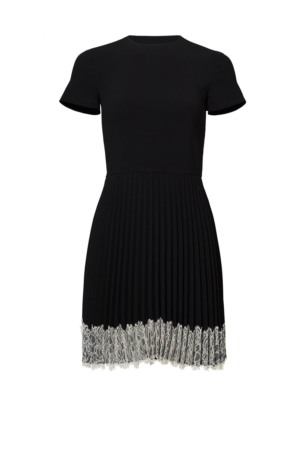 Dress for Women, Evening Cocktail Party On Sale, Red Valentino, Black, acetate, 2017, 10 12 8 Valentino