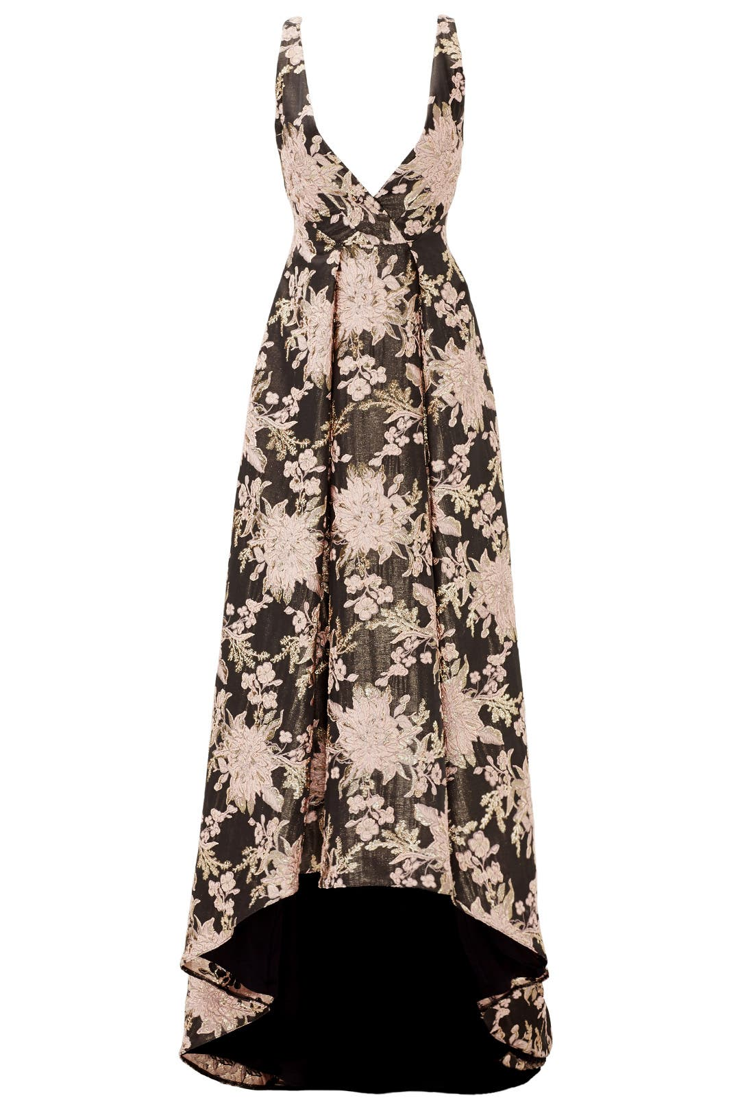 Floral Butterfly Gown by Badgley Mischka for $175 - $185 | Rent the ...