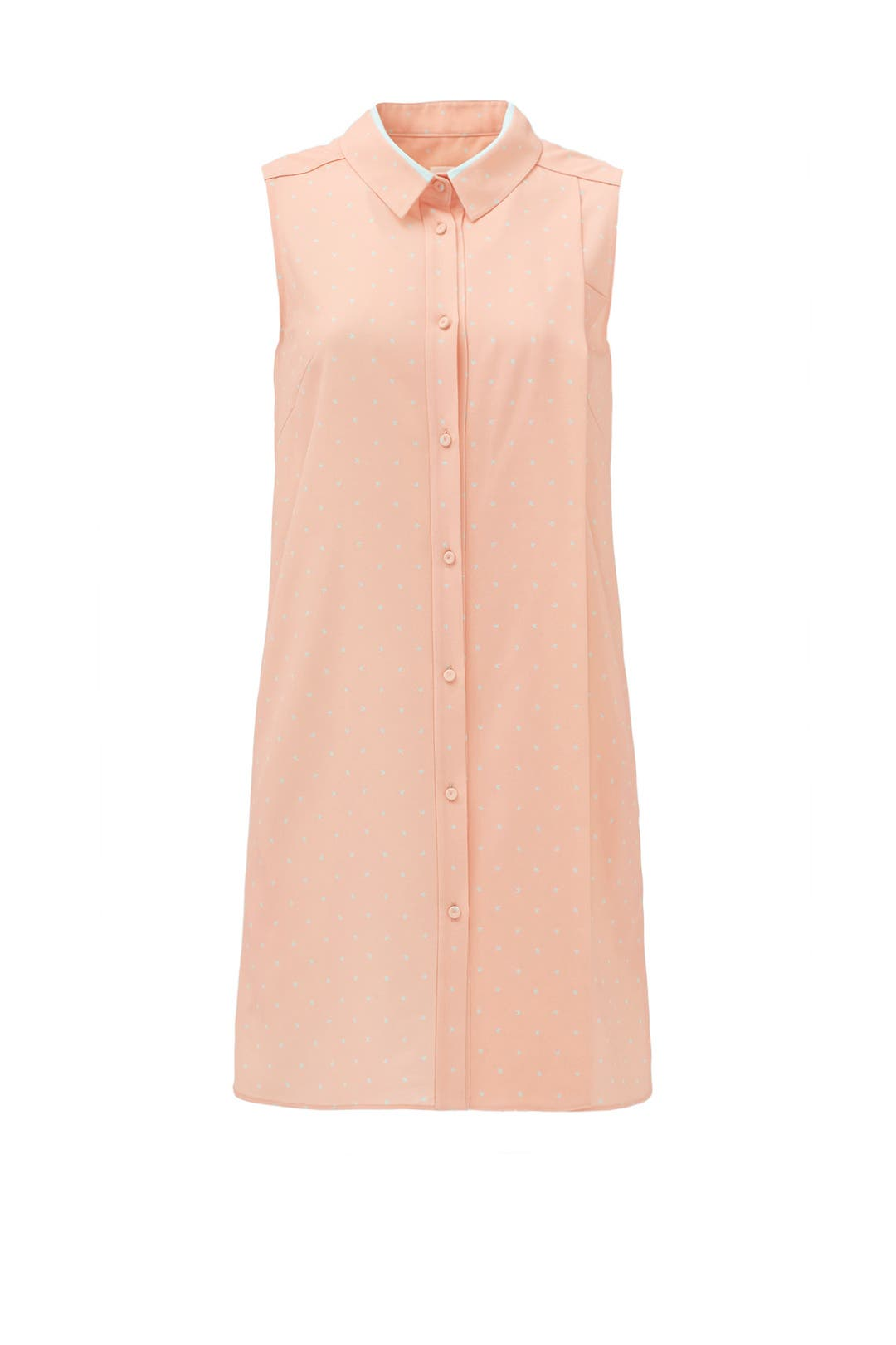 Peach Nectar Shirtdress by 1 by O2nd