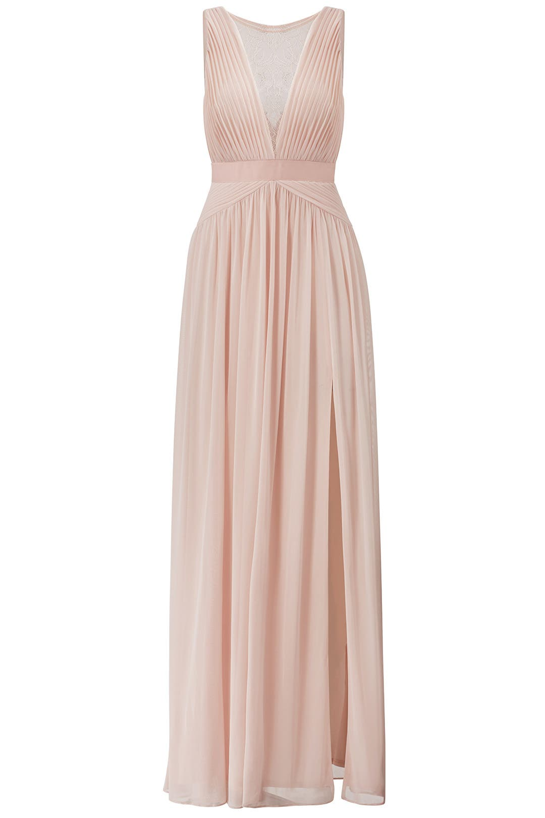 Blush Illusion Gown by Adrianna Papell for $35 - $55 | Rent the Runway