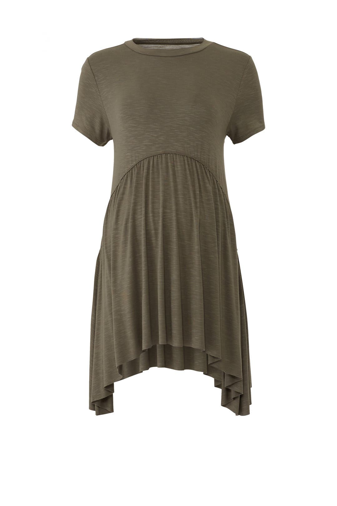 2e7c0620302e1 Ingrid & Isabel. Read Reviews. Olive Handkerchief Hem Maternity Top