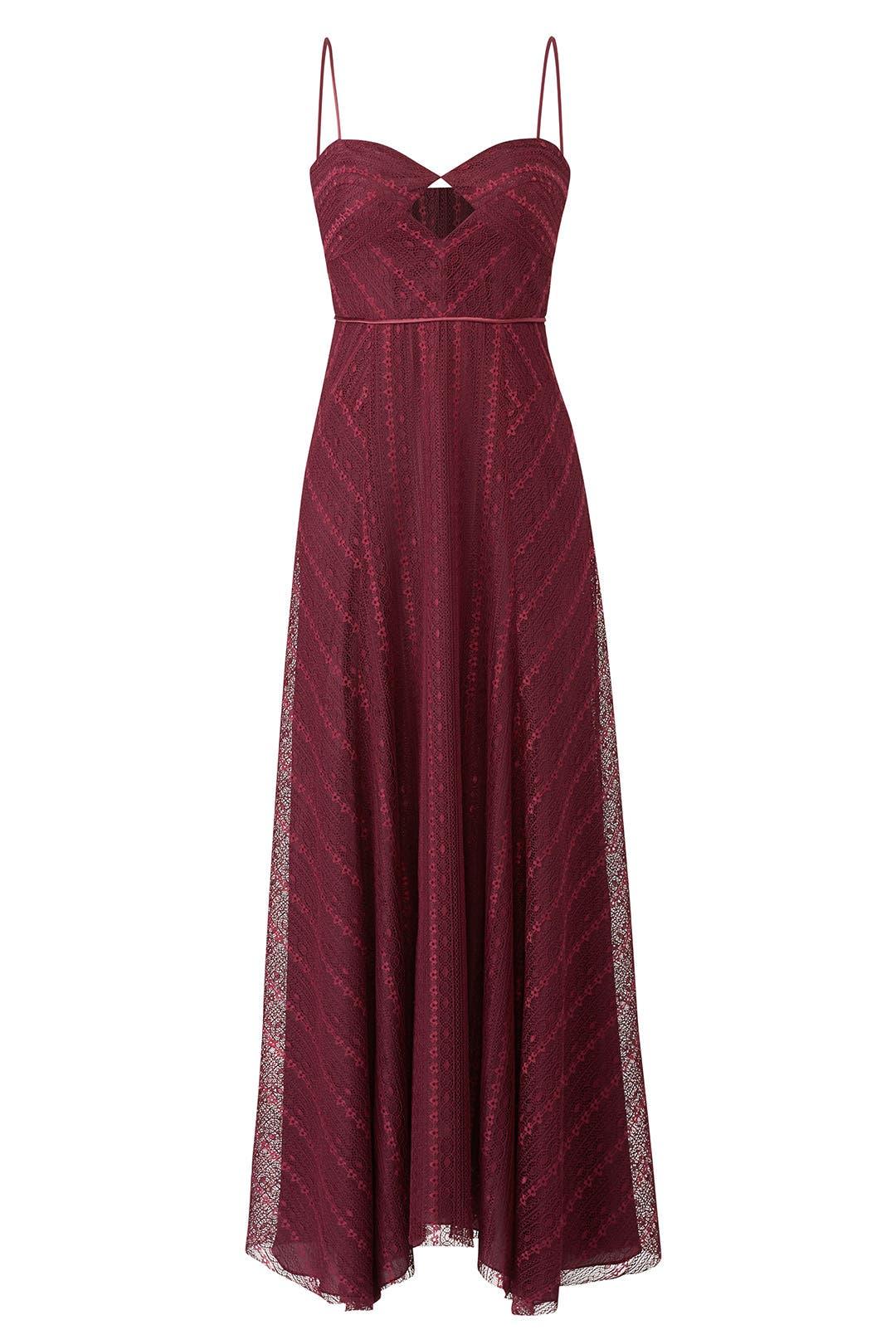 Eliza Lace Slip Gown by Jill Jill Stuart for $50 - $70   Rent the Runway