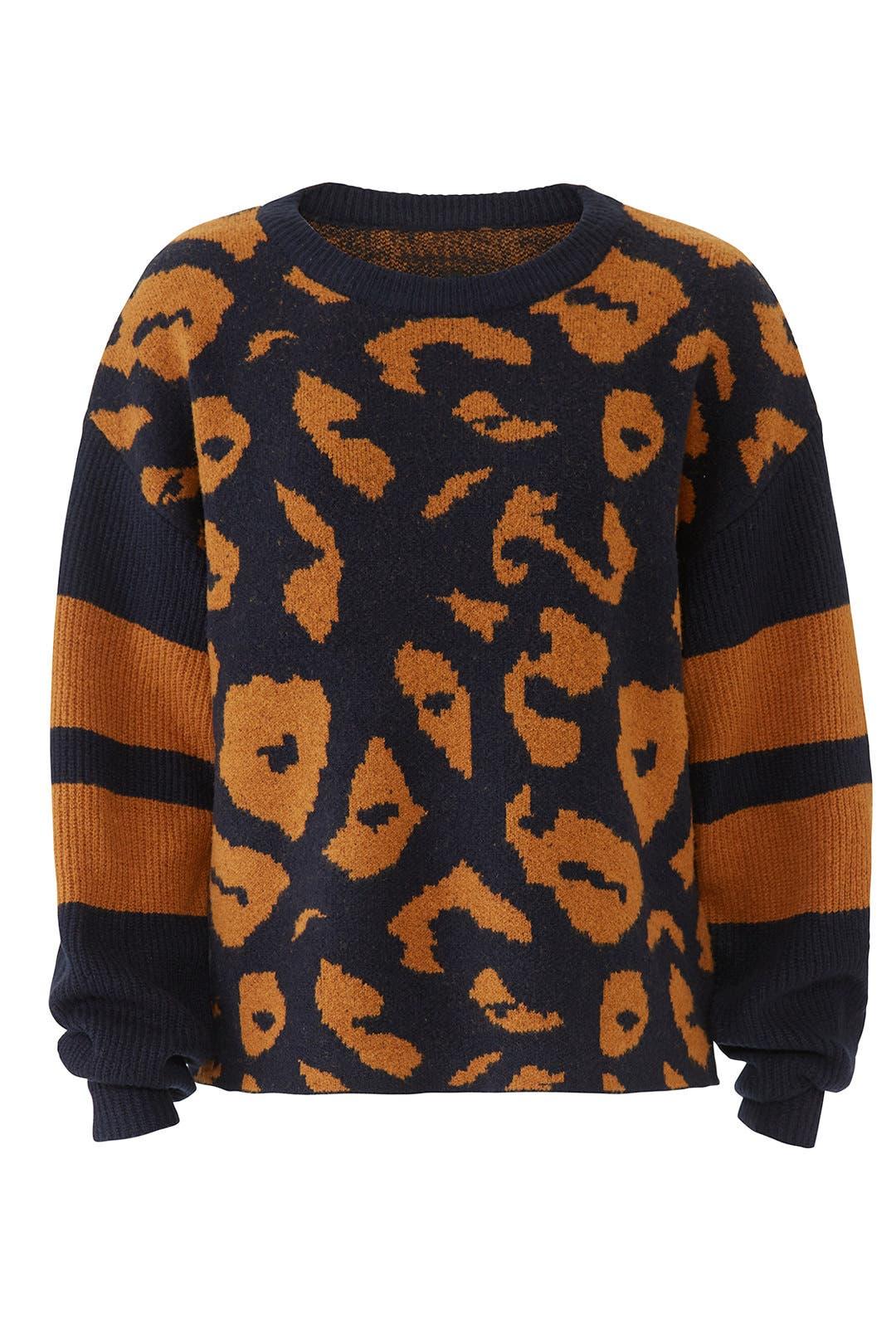4dd8b9e35 Jodi Leopard Sweater by John + Jenn for  30