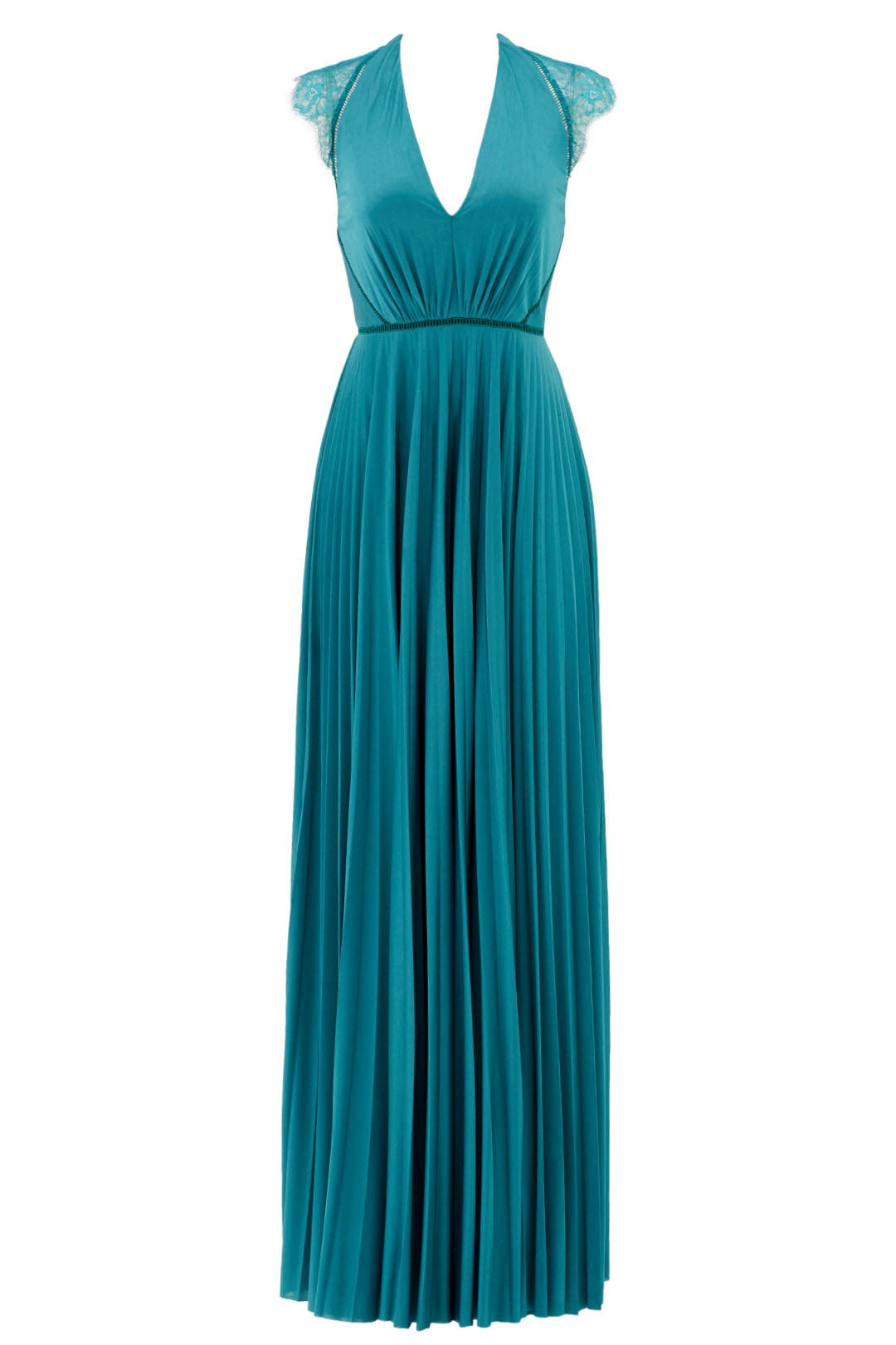 Aqua Elouise Gown by CATHERINE DEANE for $130 | Rent the Runway